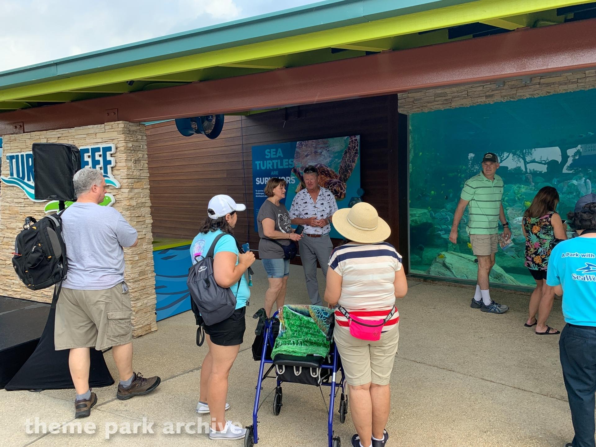 Turtle Reef at Sea World San Antonio