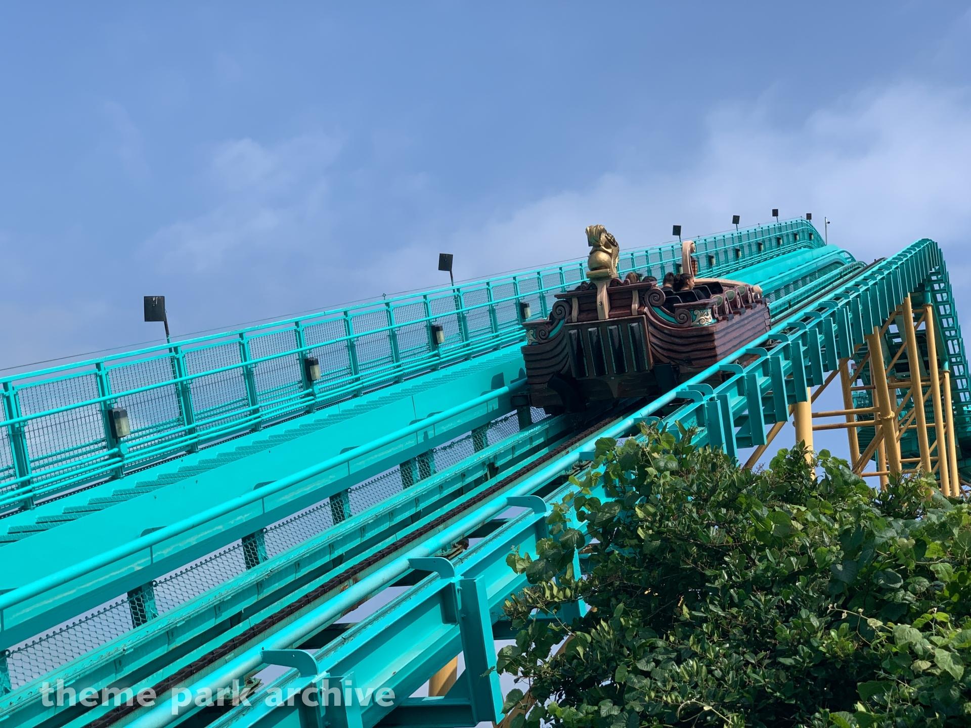 Journey To Atlantis At Sea World San Antonio Theme Park