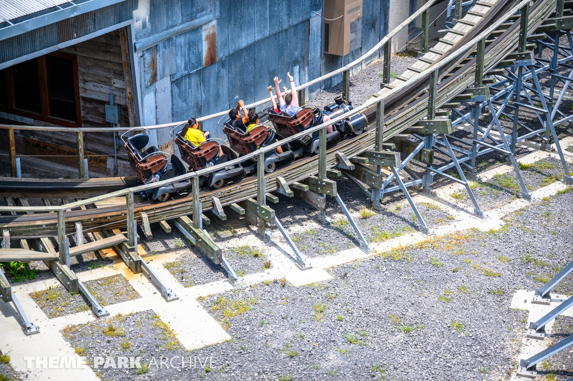 Switchback at ZDT's Amusement Park