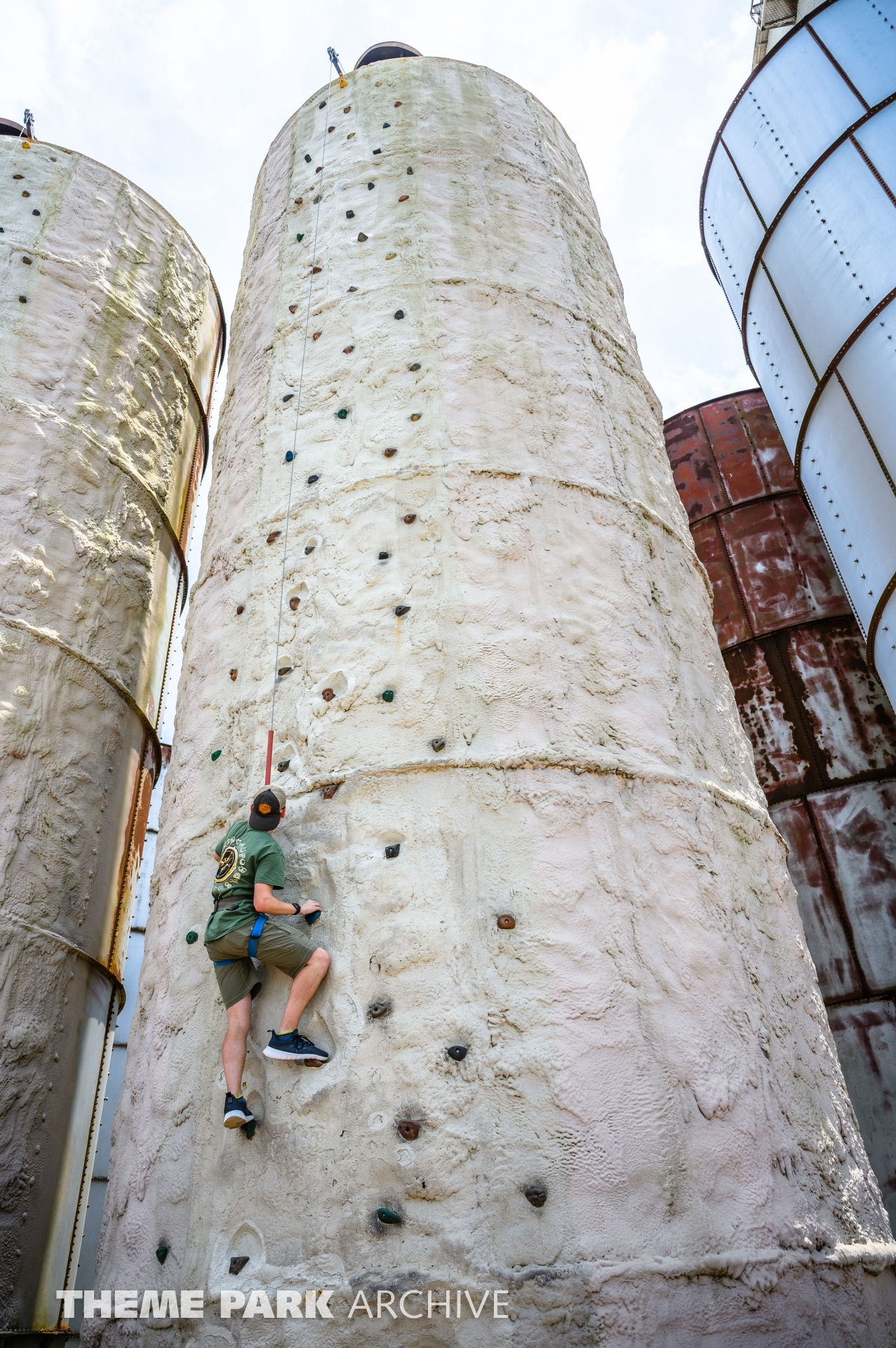 Silo Climb at ZDT's Amusement Park