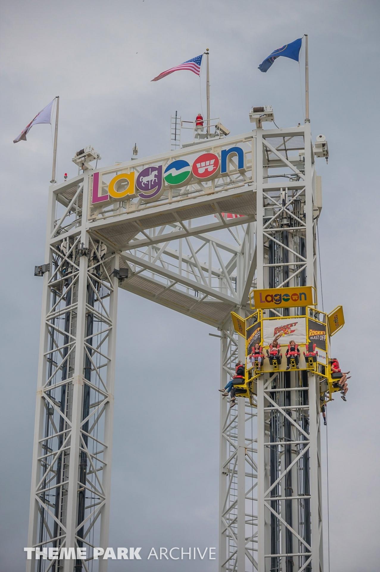 Rocket at Lagoon