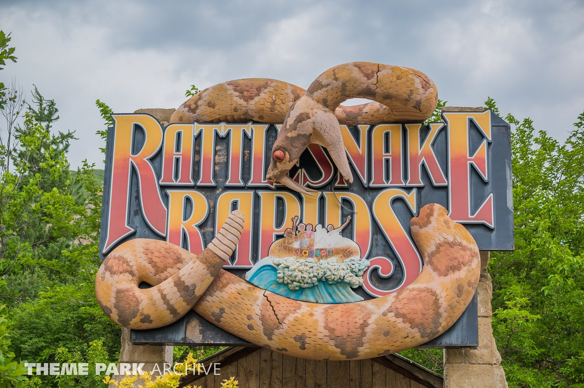 Rattlesnake Rapids at Lagoon