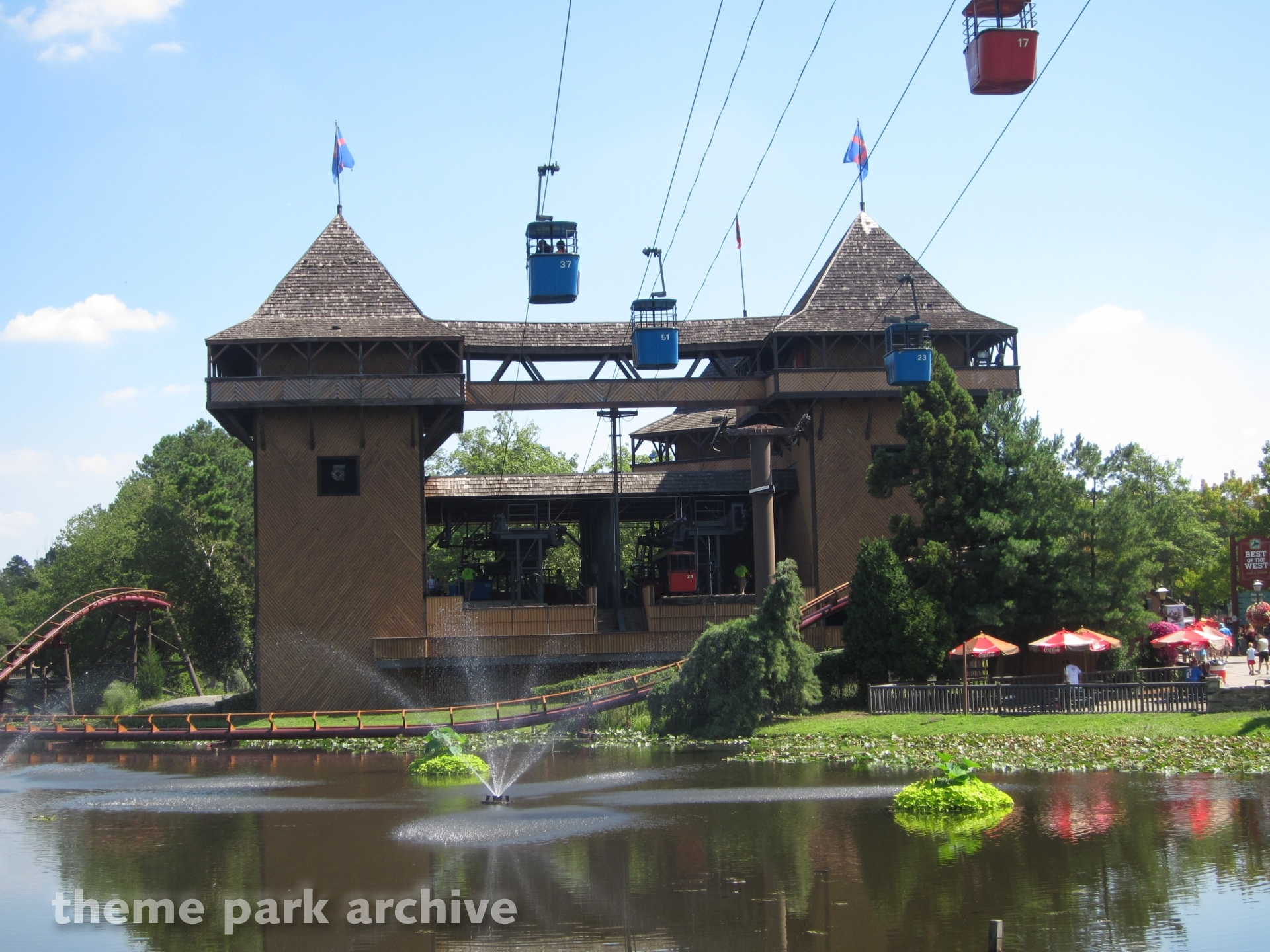 Skyway at Six Flags Great Adventure