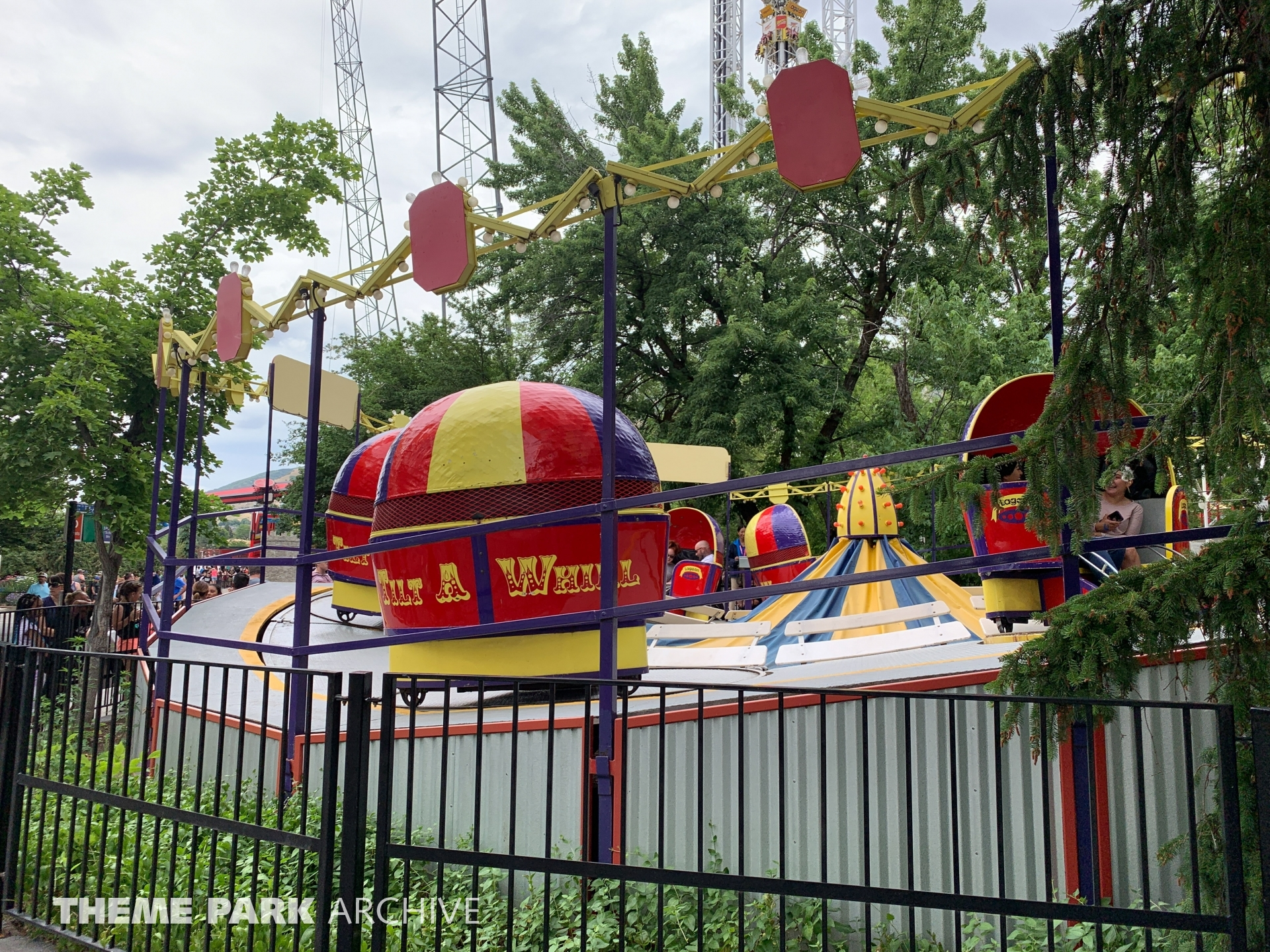 Tilt a Whirl at Lagoon