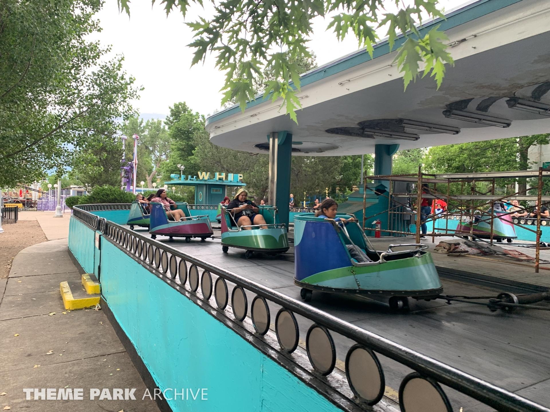 Whip at Lakeside Amusement Park