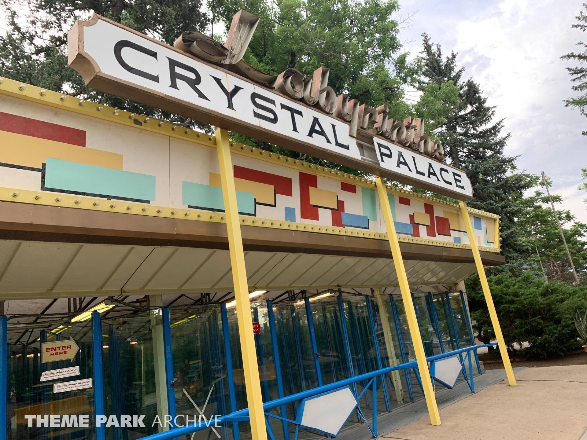 Crystal Palace House of Mirrors at Lakeside Amusement Park