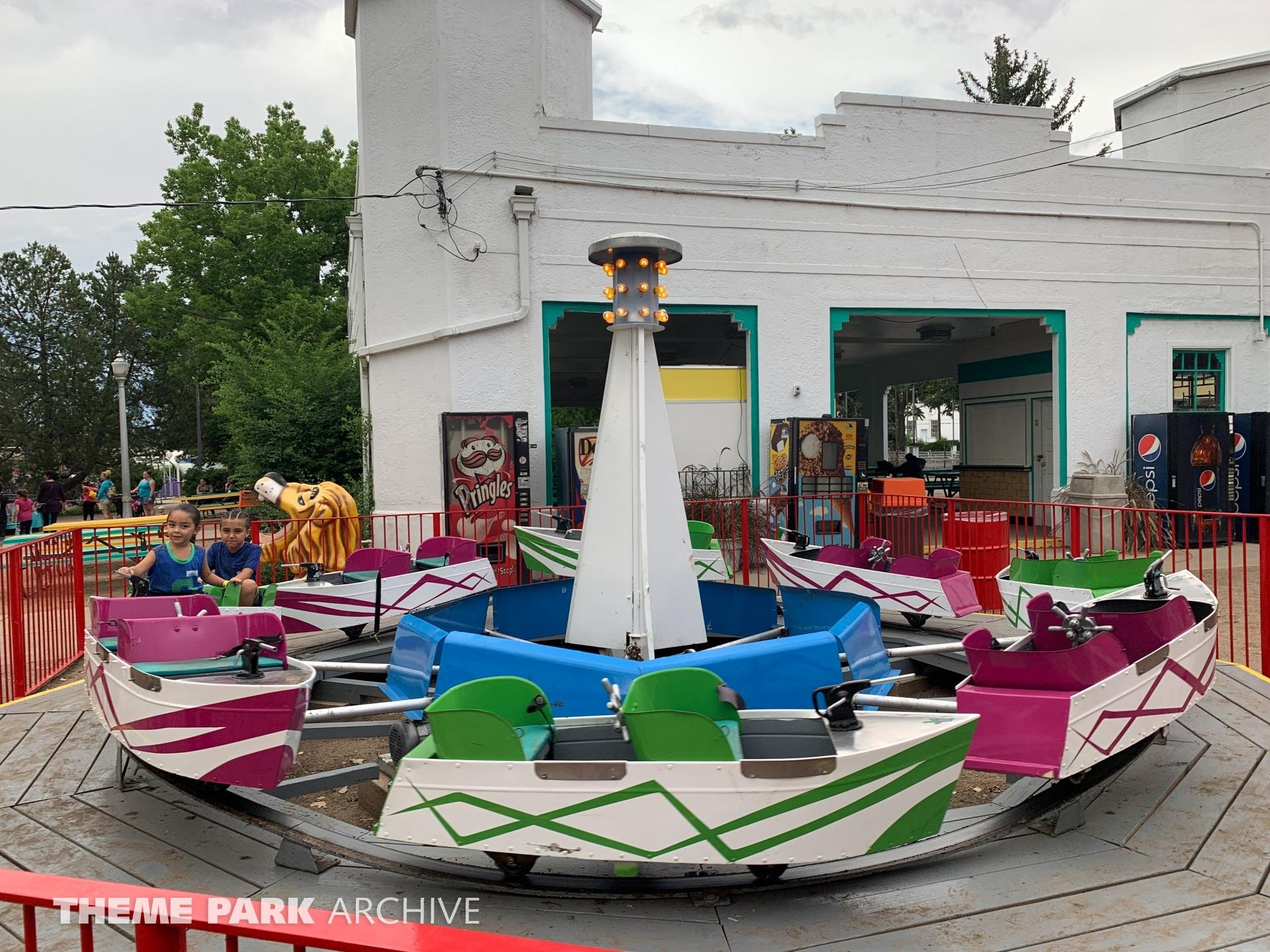 Dry Boats at Lakeside Amusement Park