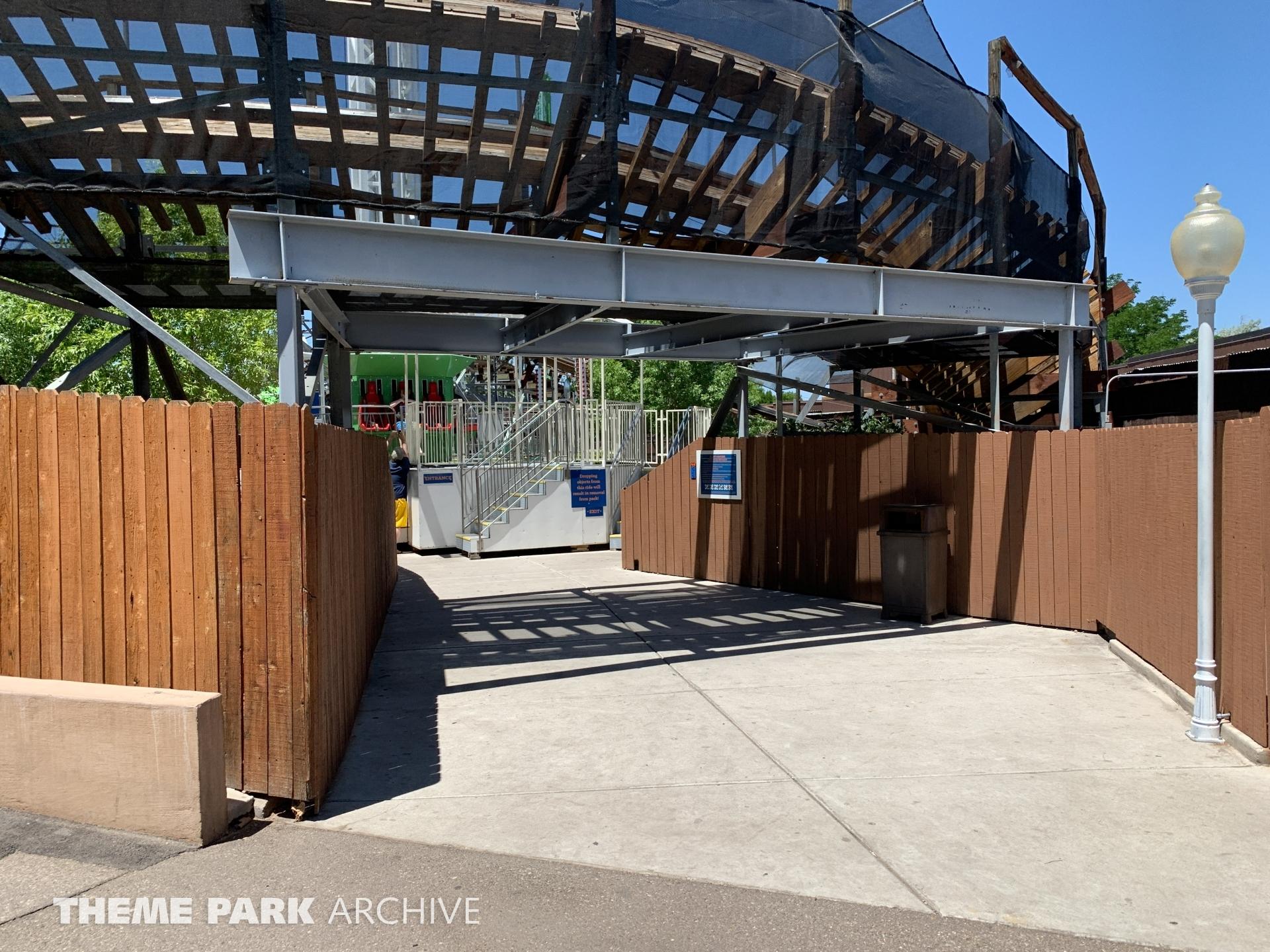 CliffHanger at Cliff's Amusement Park