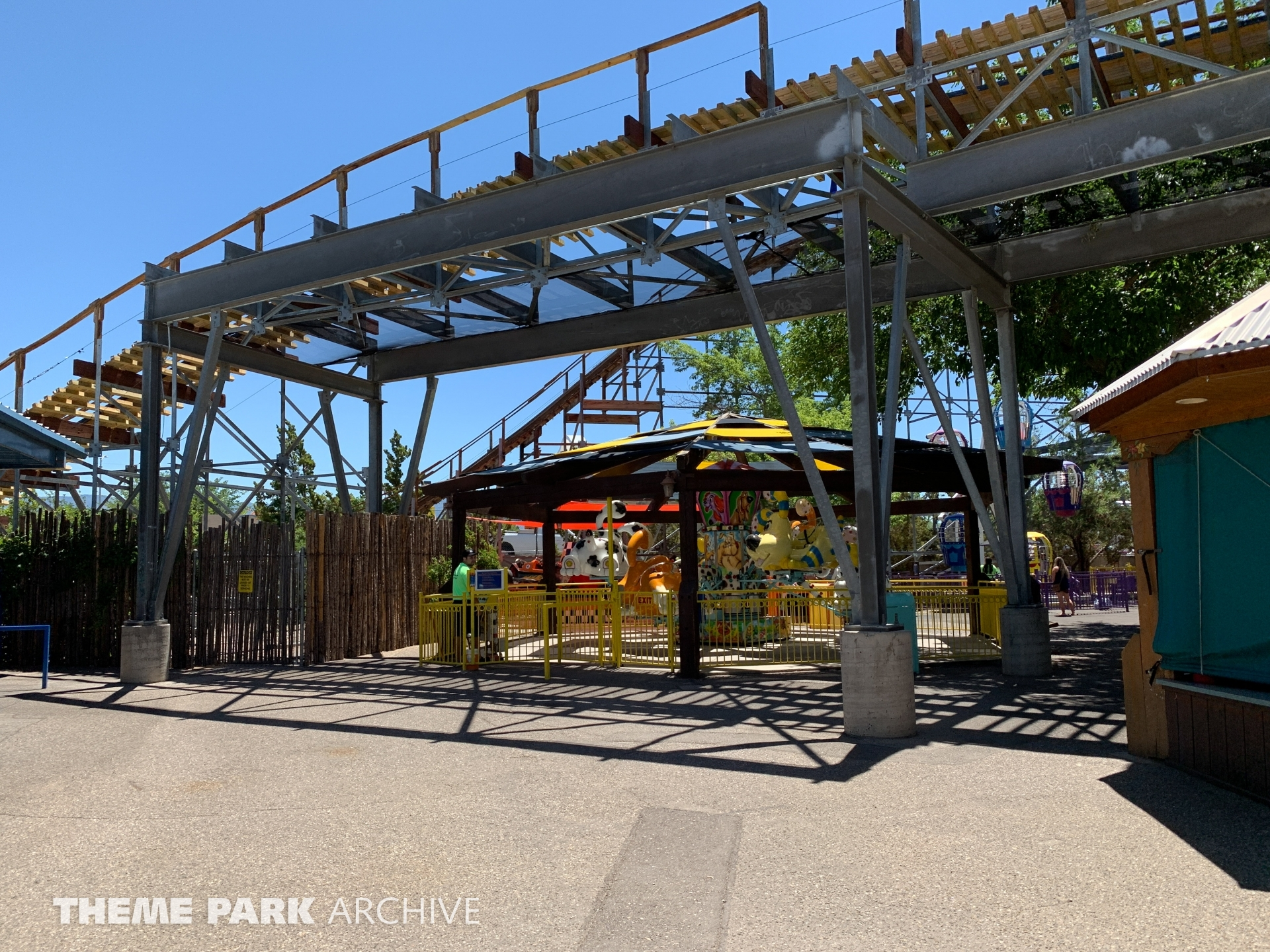 New Mexico Rattler at Cliff's Amusement Park