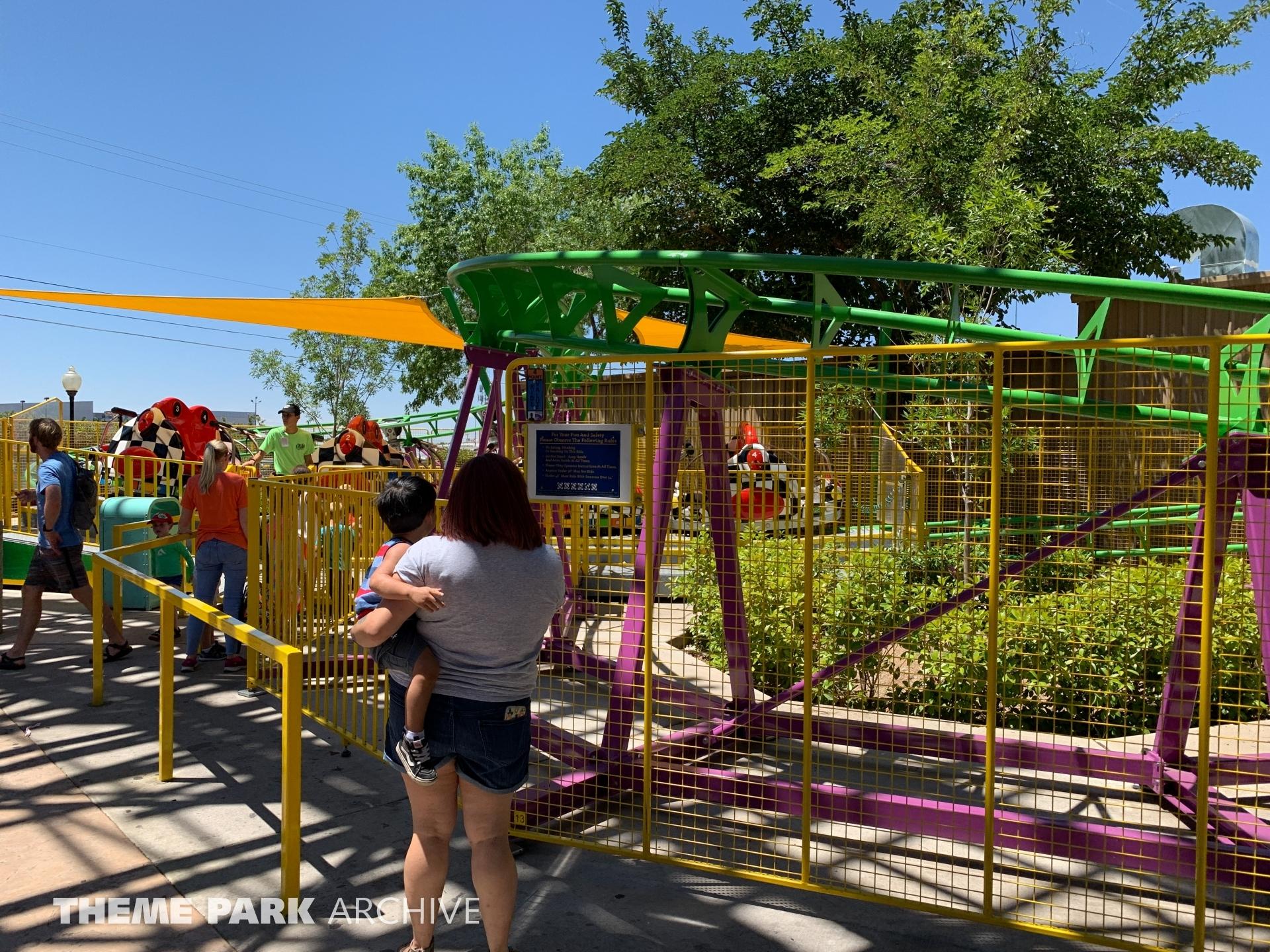Spin O Rama at Cliff's Amusement Park