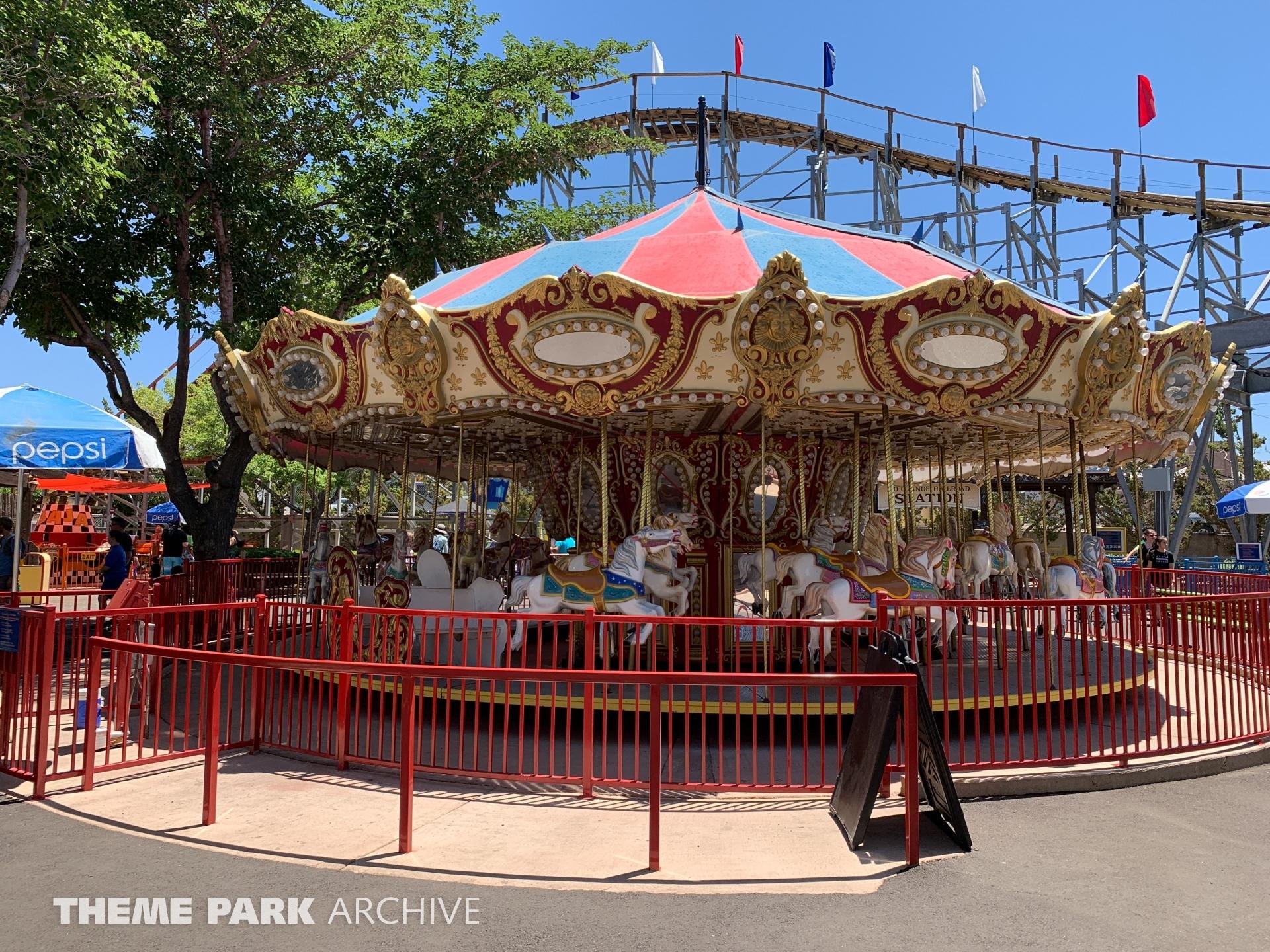 Carousel at Cliff's Amusement Park