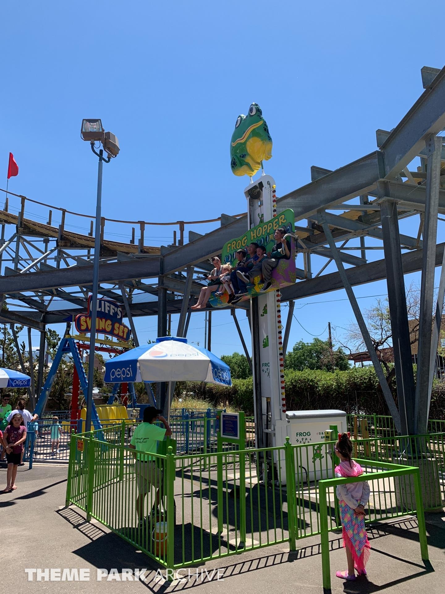 The Frog Hopper at Cliff's Amusement Park
