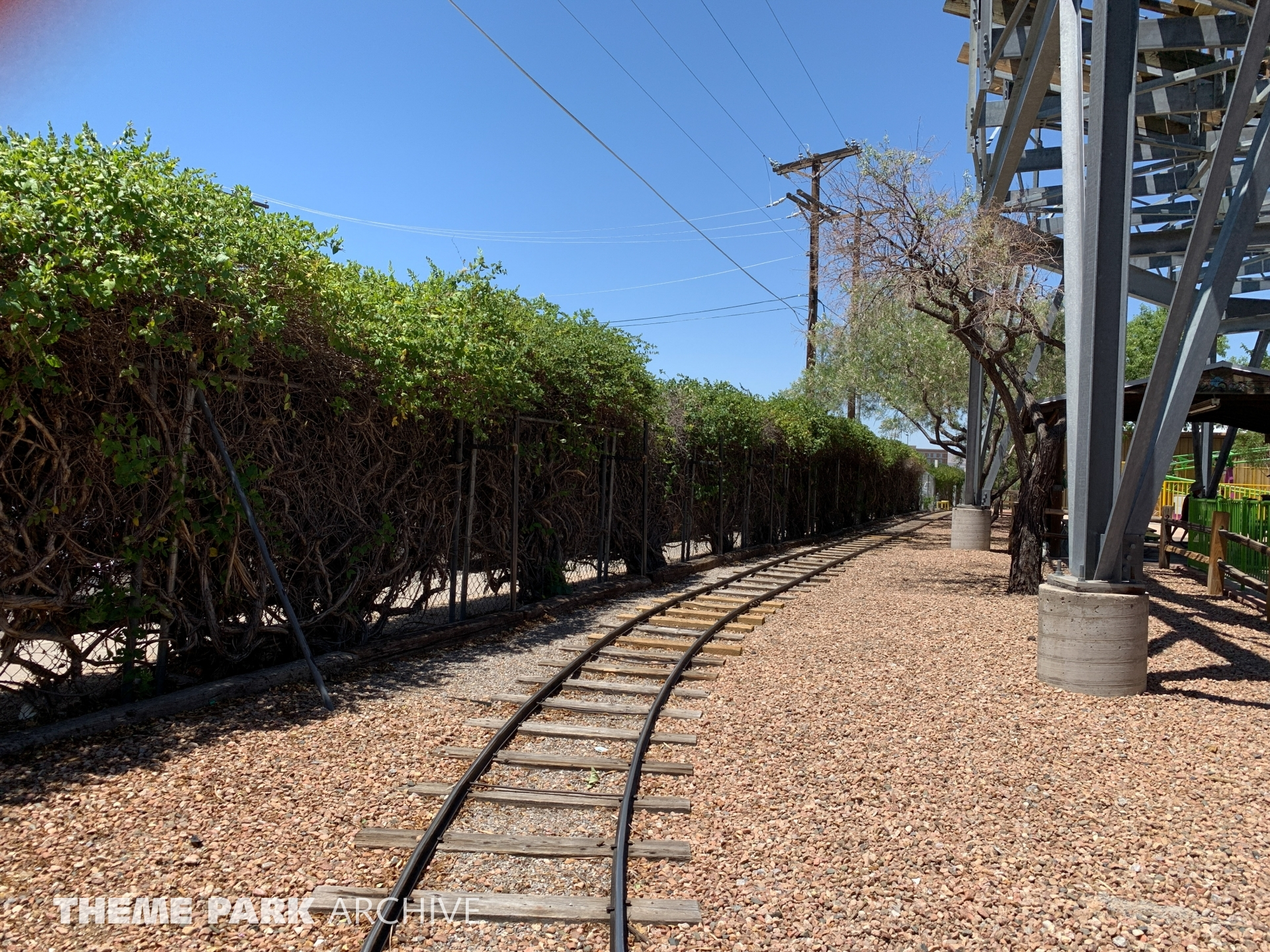 Train at Cliff's Amusement Park