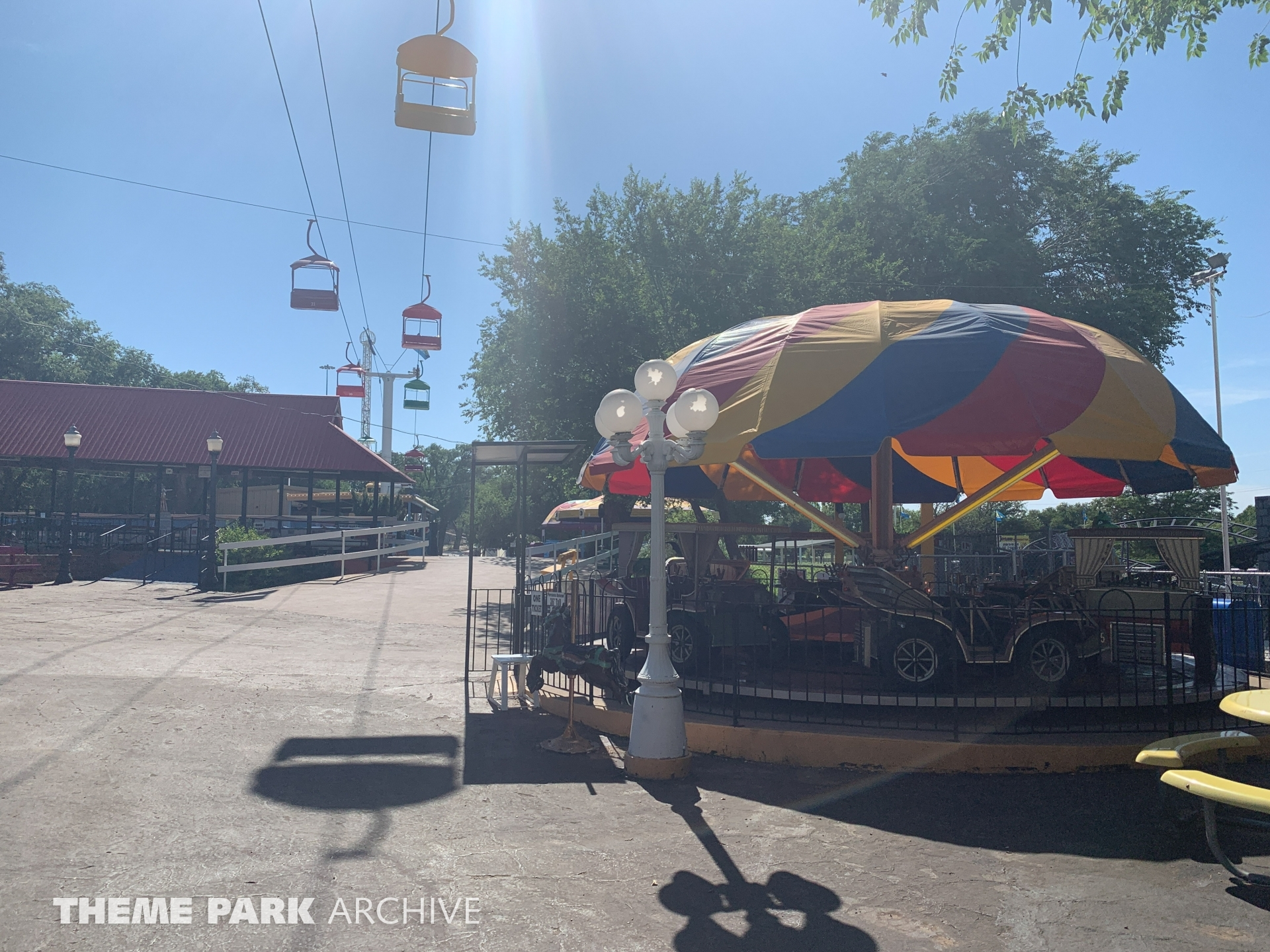 Antique Cars at Joyland Amusement Park