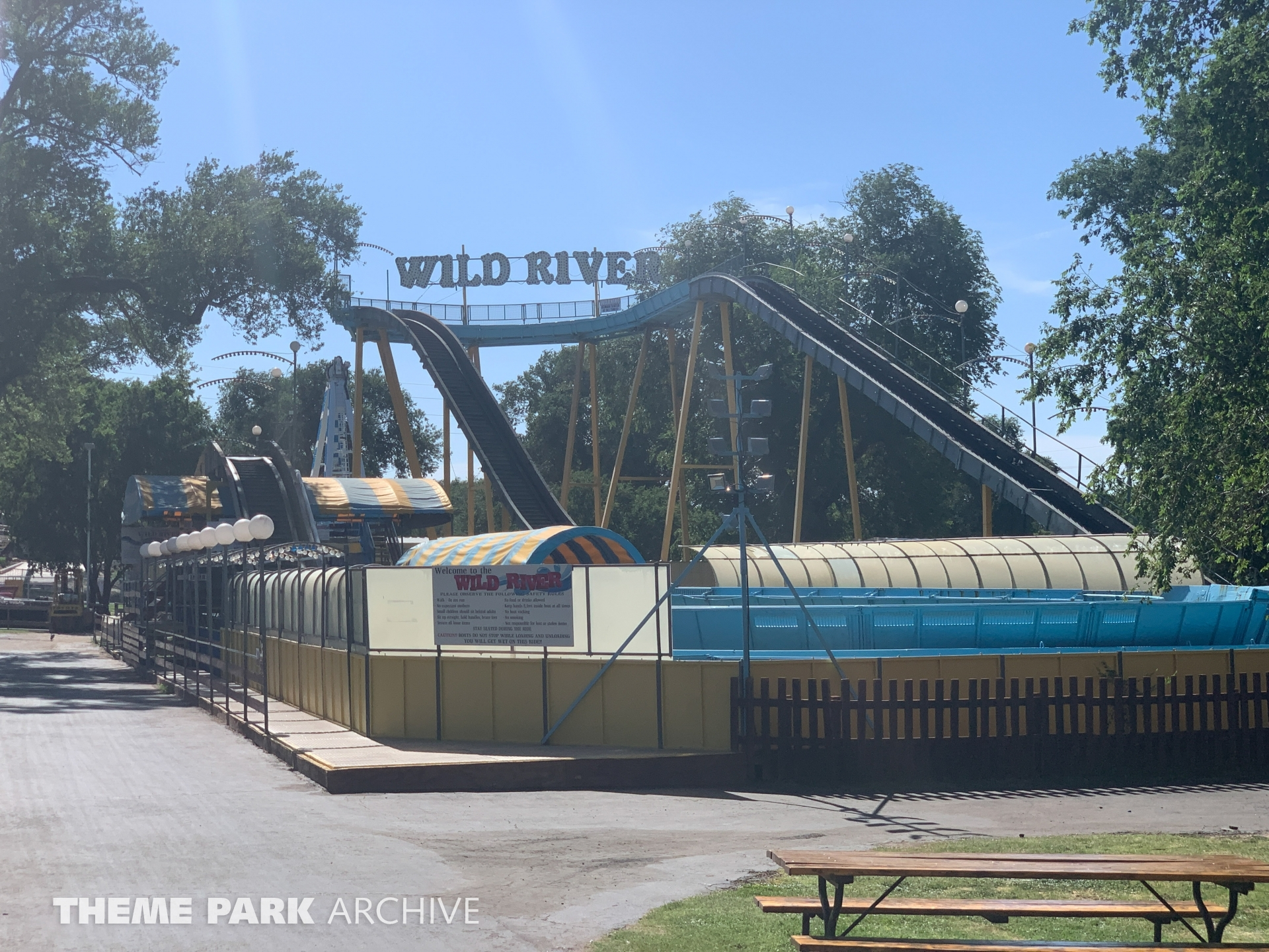 Wild River at Joyland Amusement Park