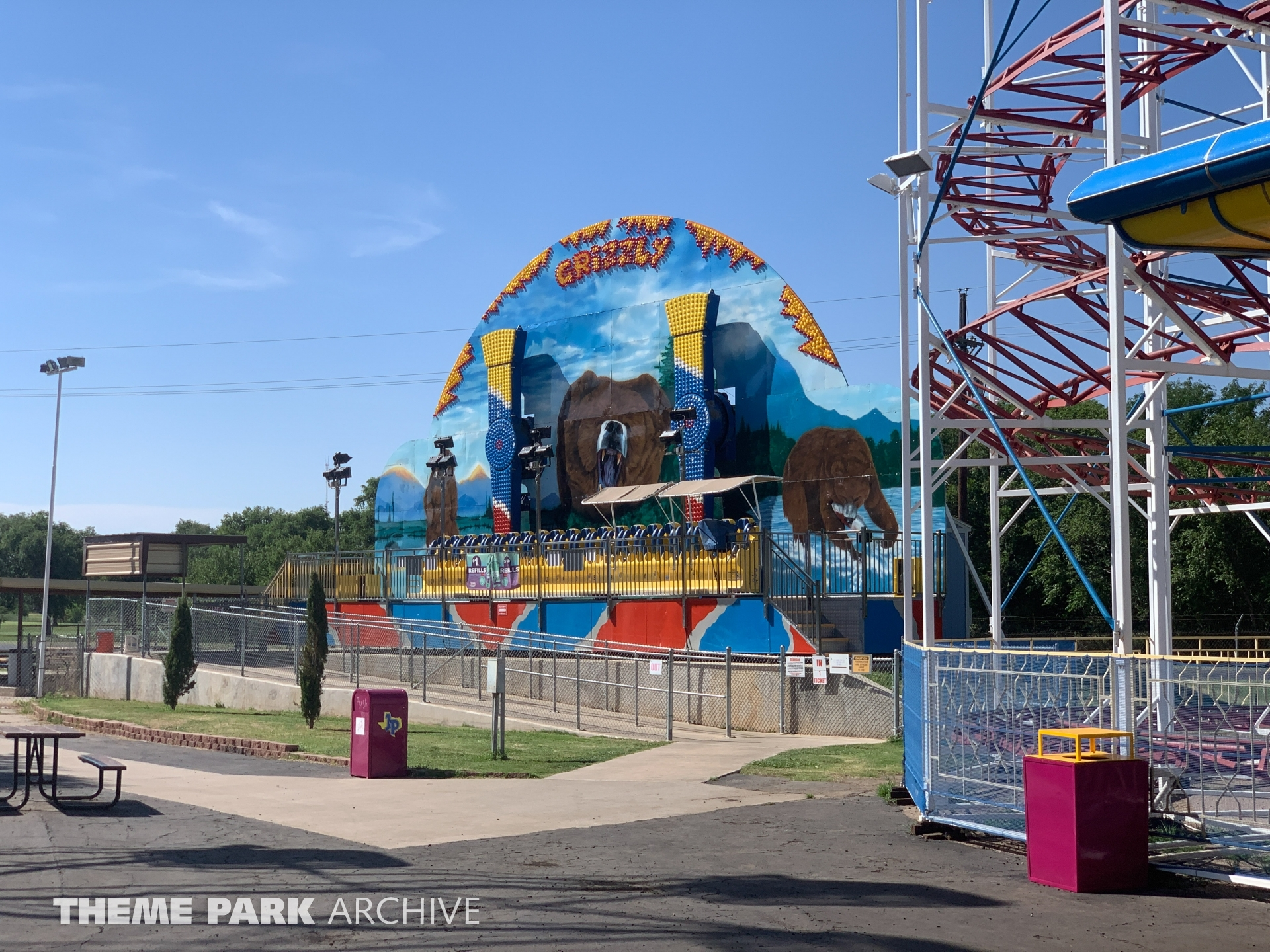 Grizzly at Joyland Amusement Park