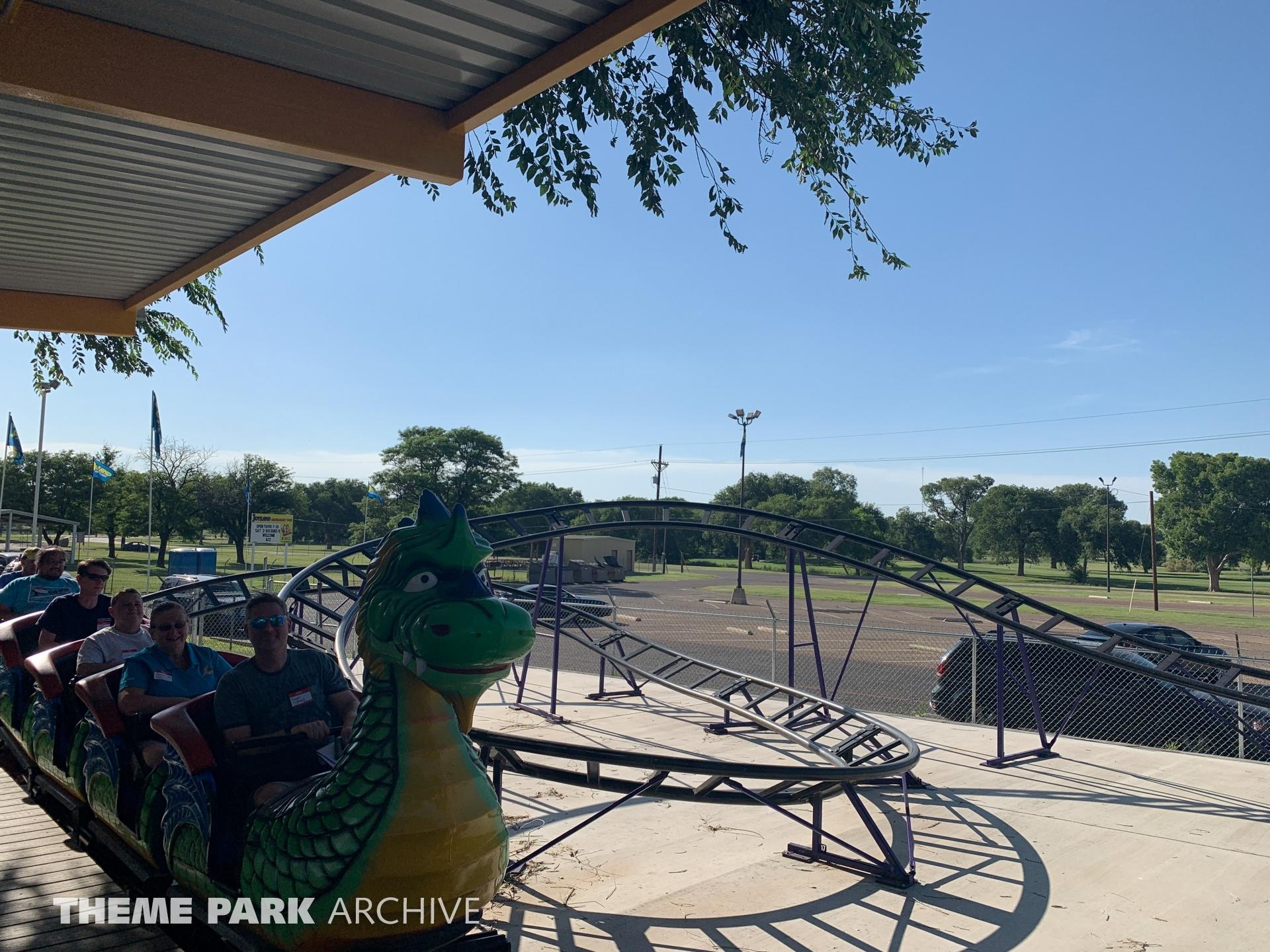 Dragon Coaster at Joyland Amusement Park