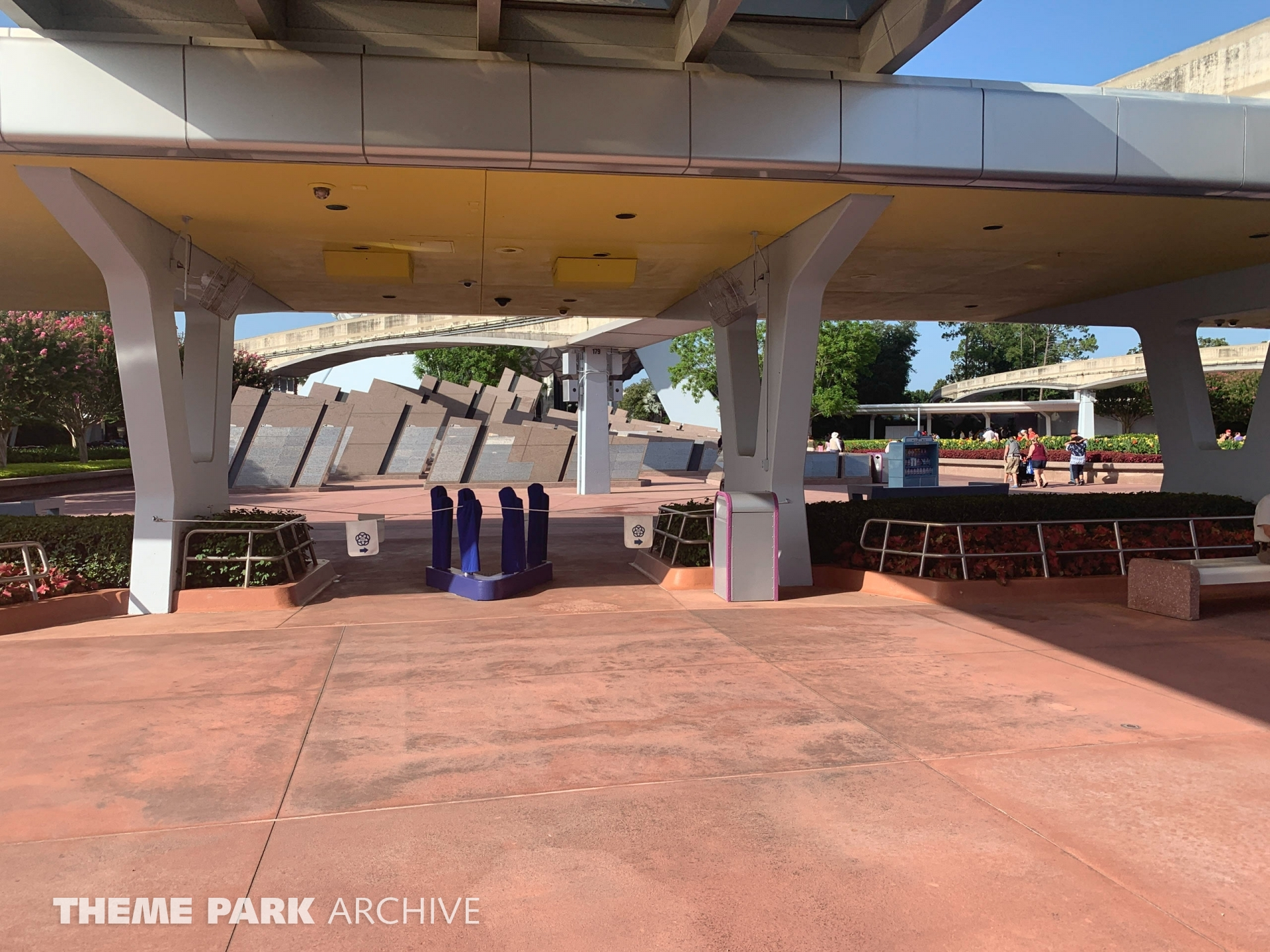 Entrance at EPCOT