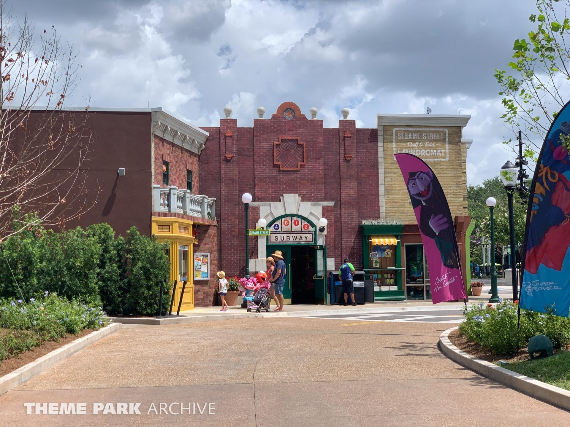 Sesame Street at Sea World Orlando