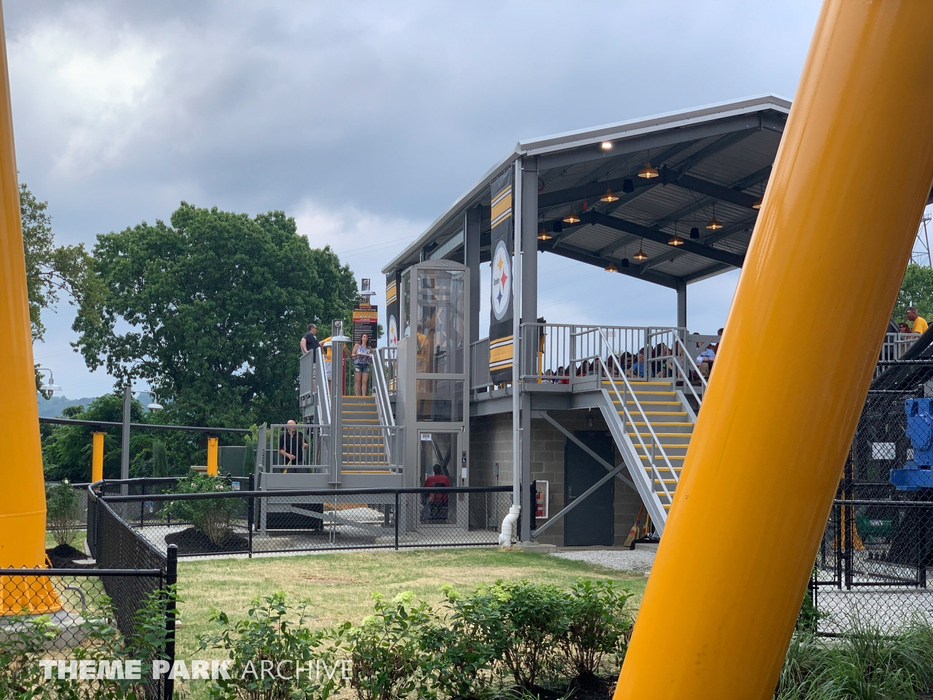 Steel Curtain at Kennywood
