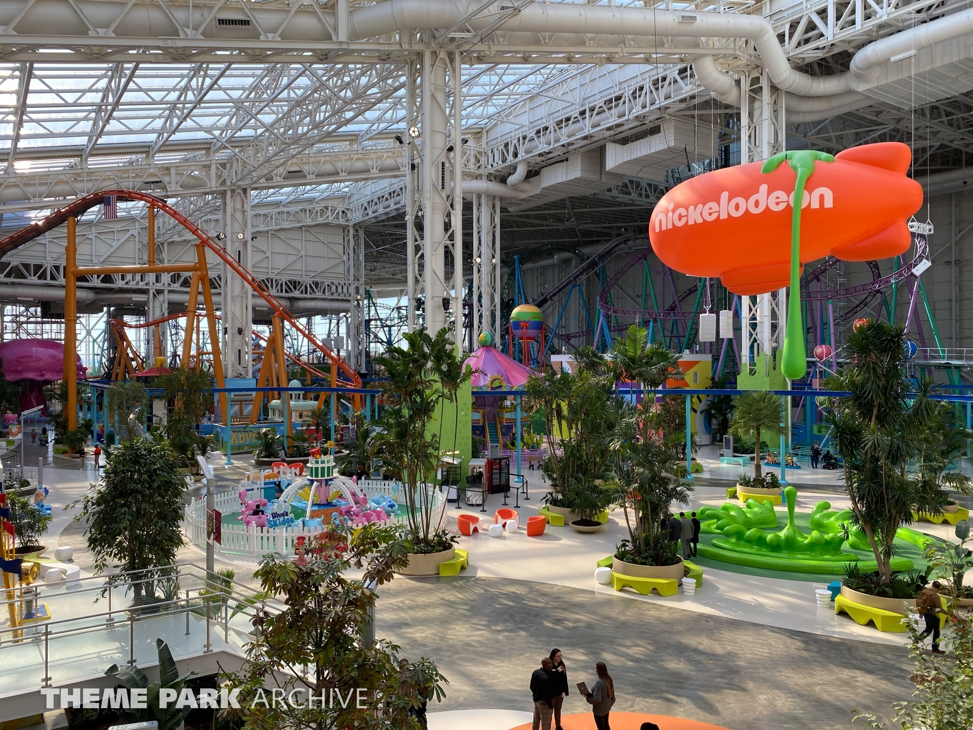 Misc at Nickelodeon Universe at American Dream