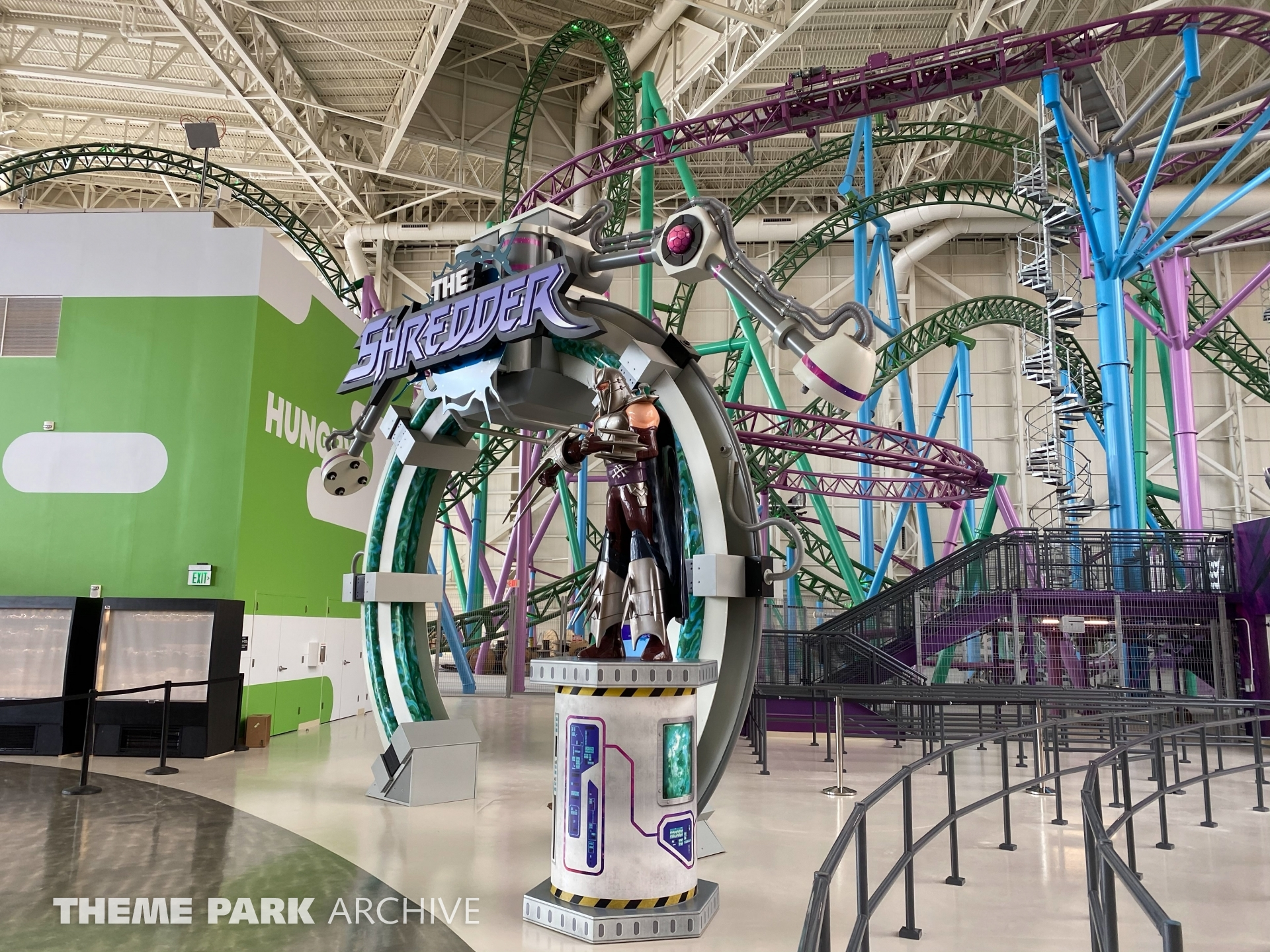 The Shredder at Nickelodeon Universe at American Dream