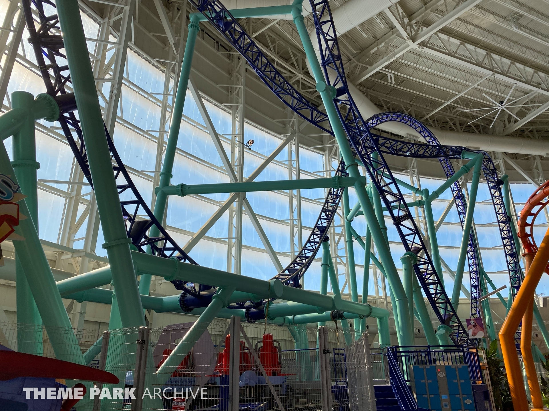 Sandy's Blasting Bronco at Nickelodeon Universe at American Dream