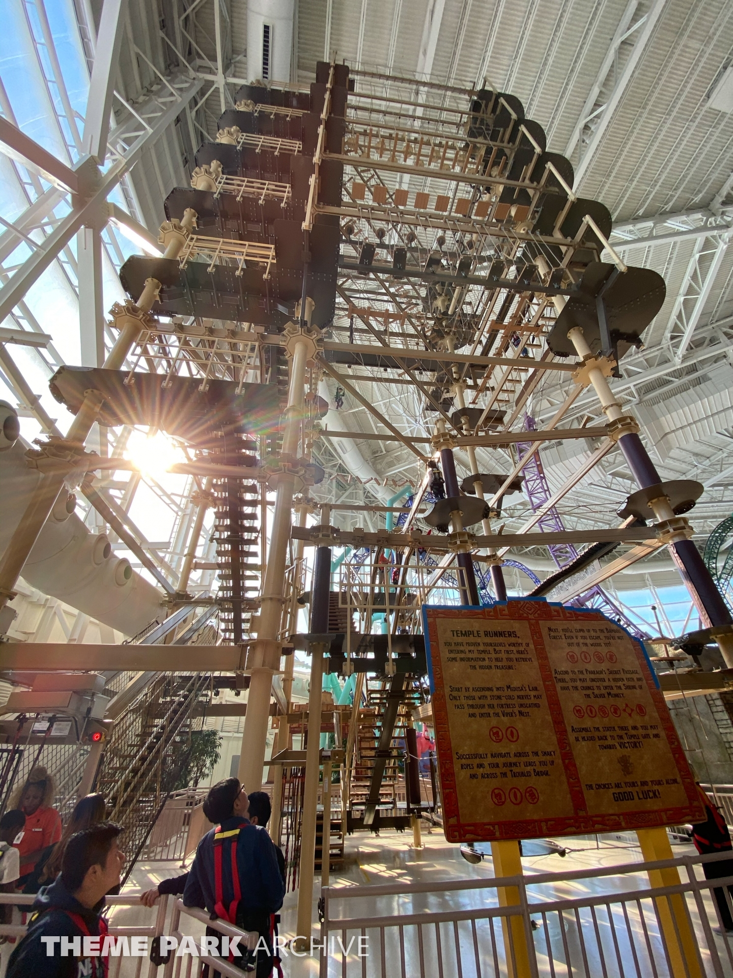 Legends of the Hidden Temple Challenge at Nickelodeon Universe at American Dream