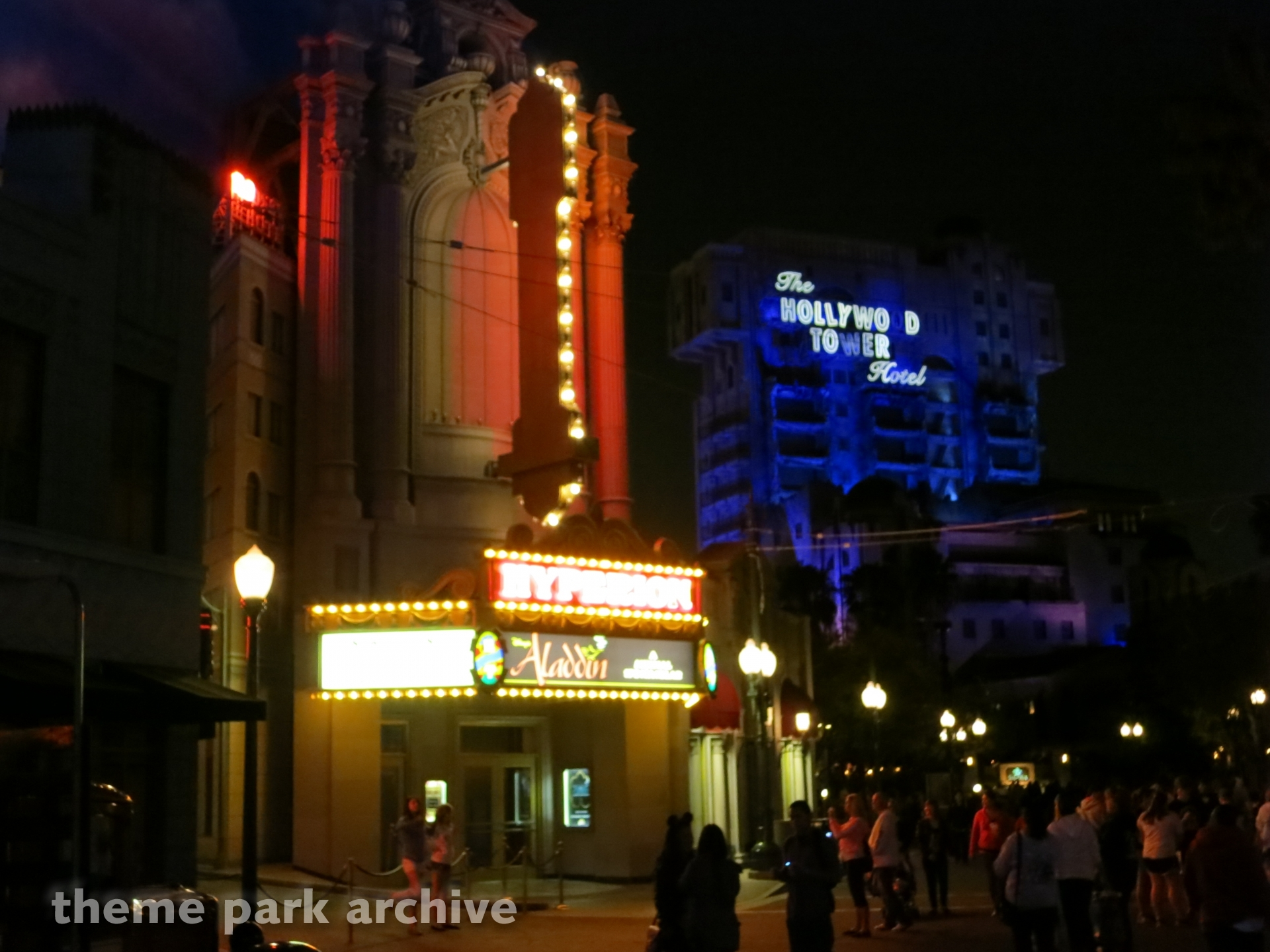 Hyperion Theatre at Disney California Adventure