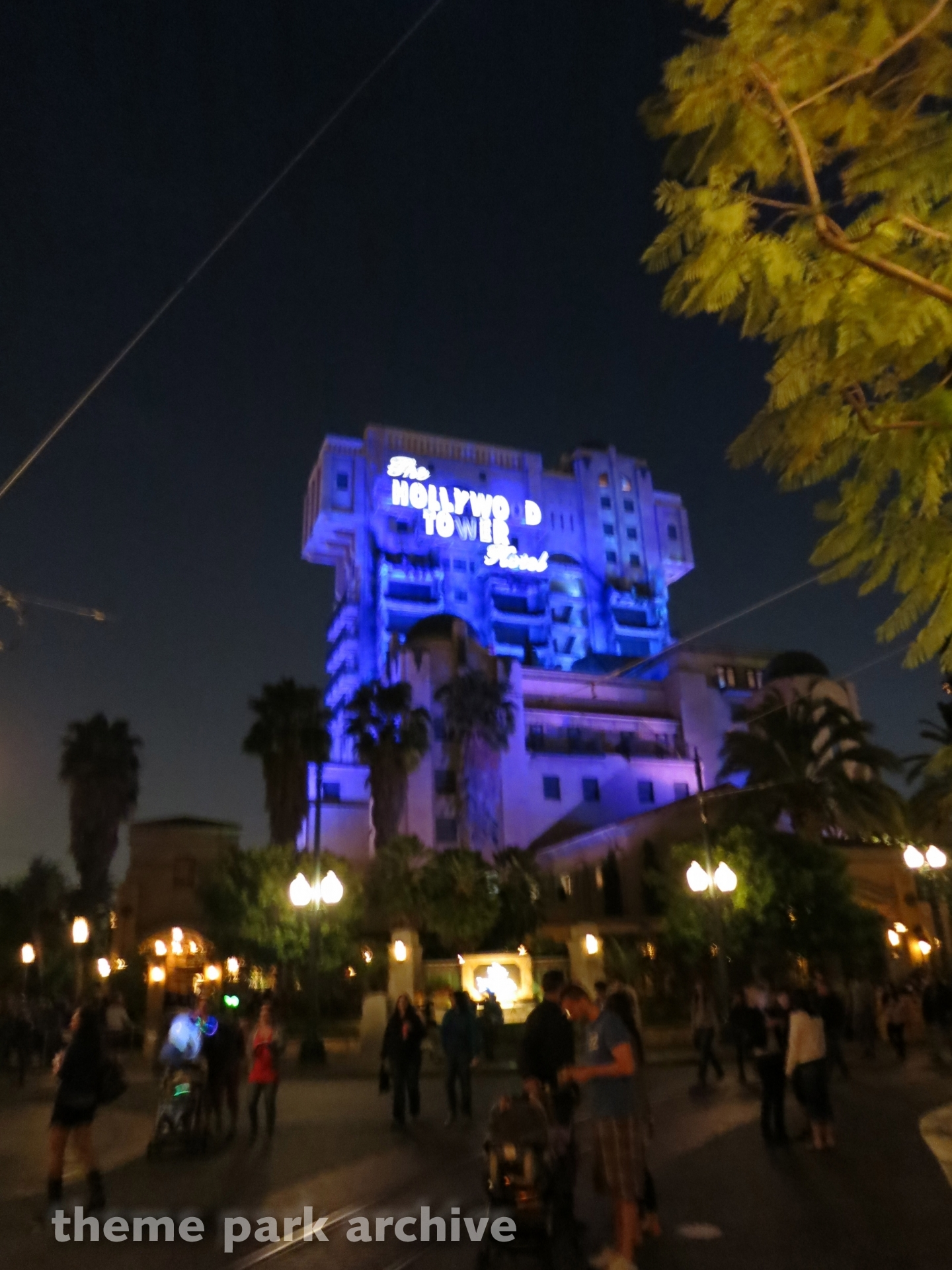Tower of Terror at Disney California Adventure
