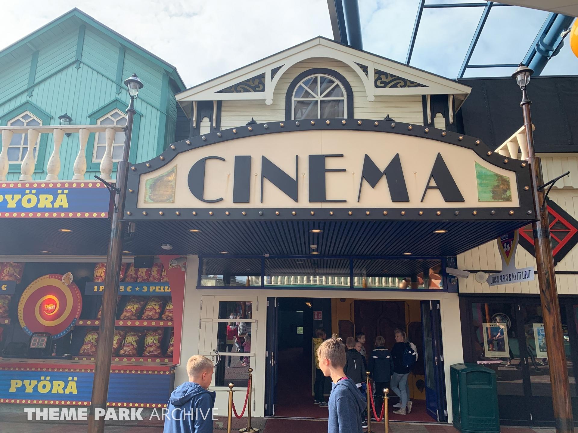 Cinema 4D at Linnanmaki