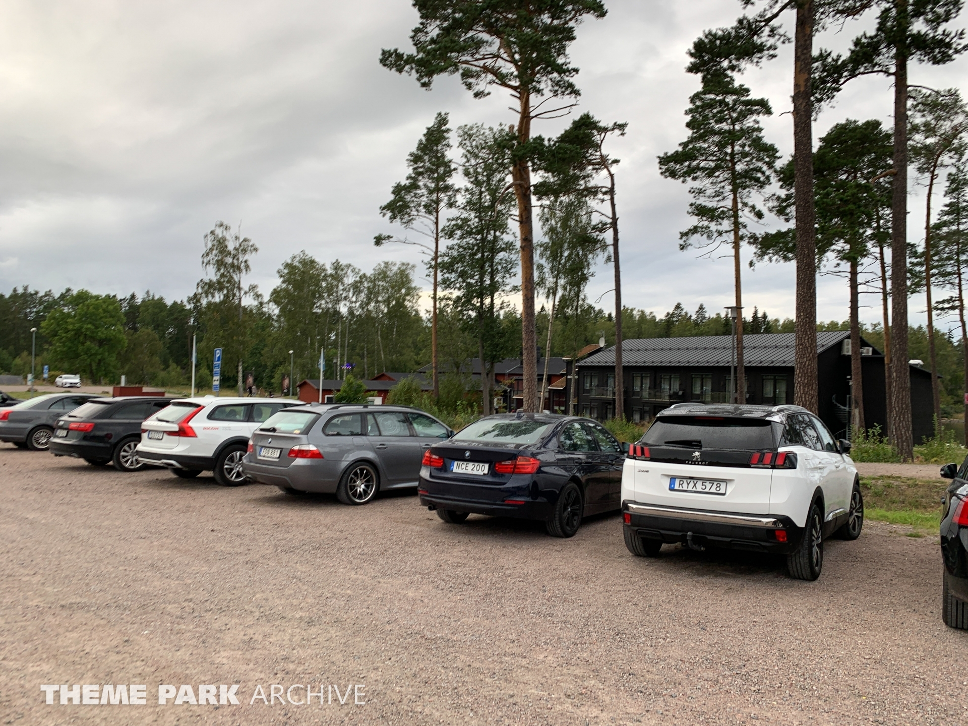 Parking at Furuvik