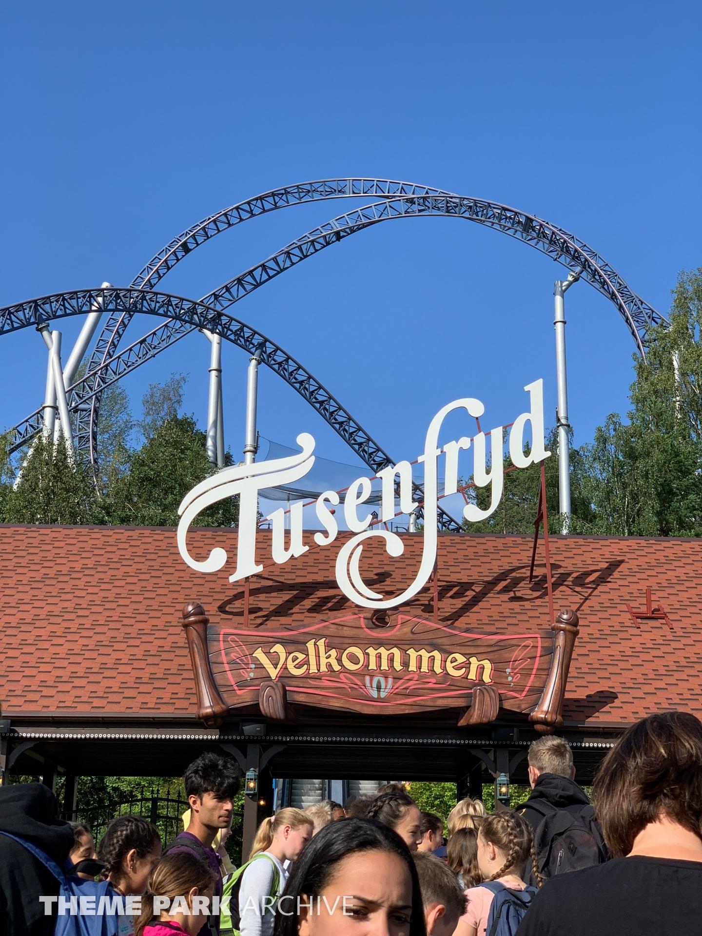 Entrance at Tusenfryd