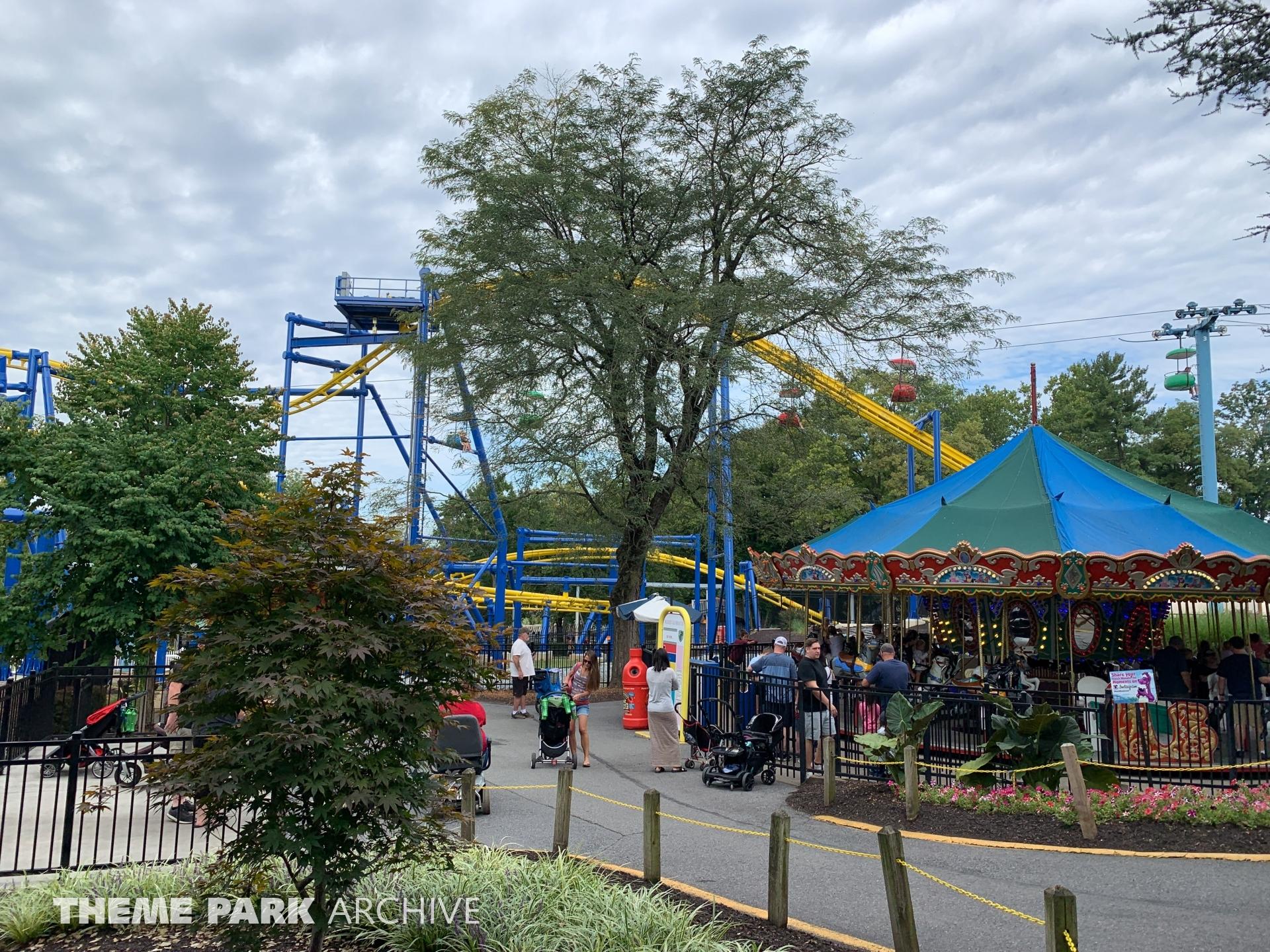 Merry Go Round at Dutch Wonderland