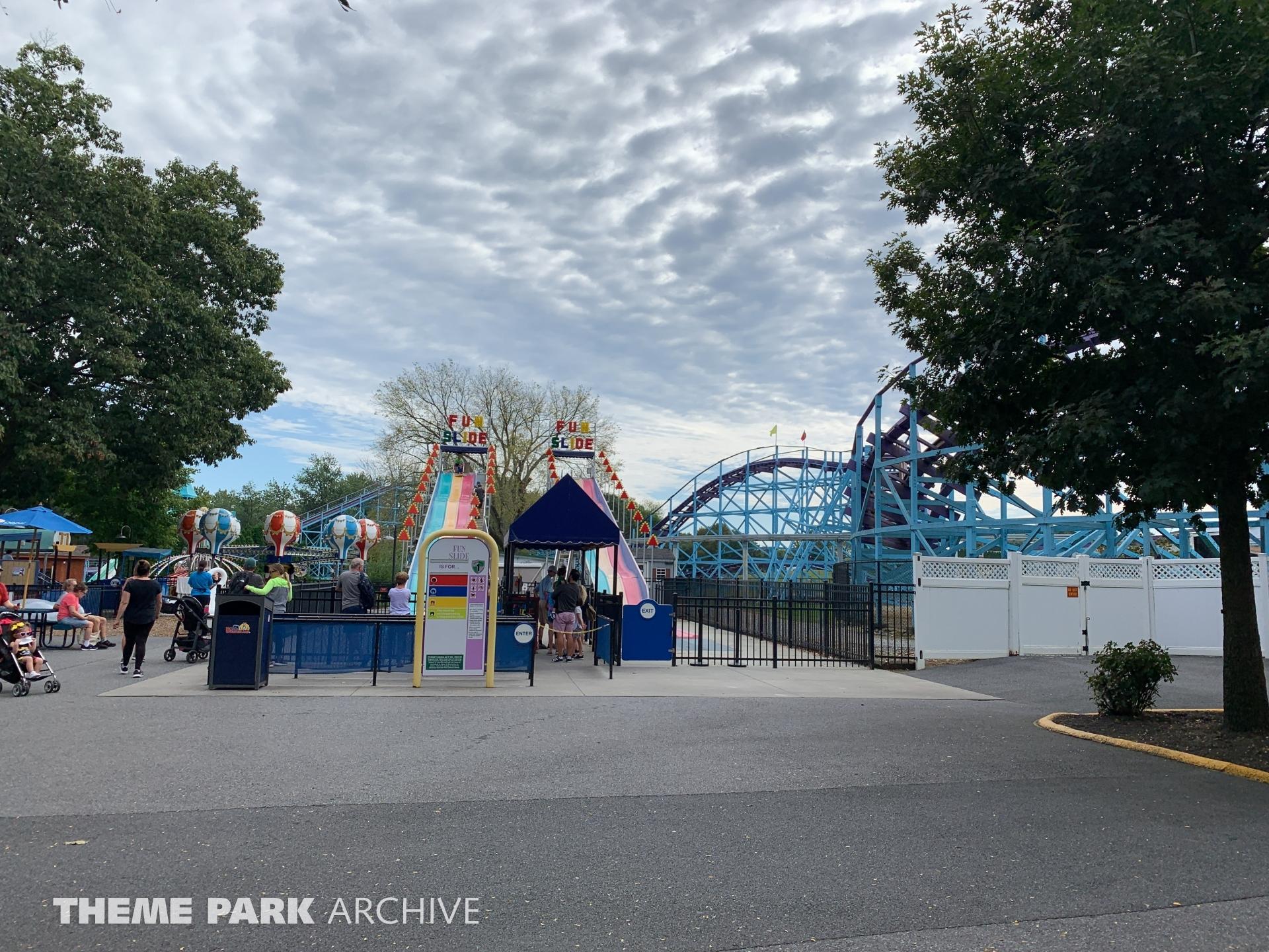 Fun Slide at Dutch Wonderland