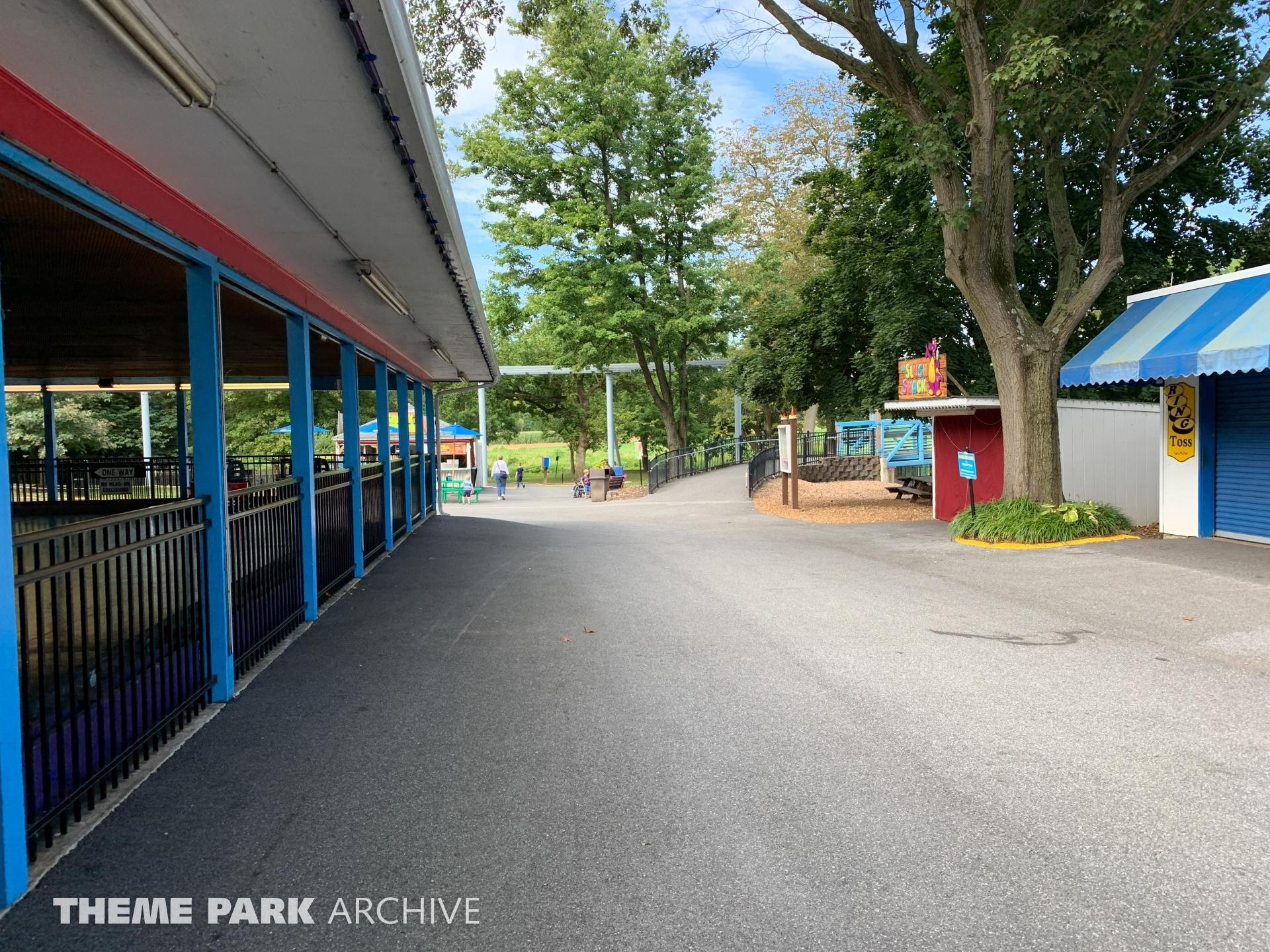 Bumper Cars at Dutch Wonderland