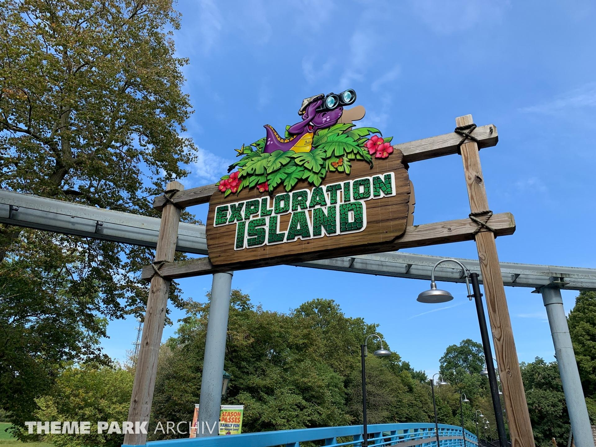Exploration Island at Dutch Wonderland