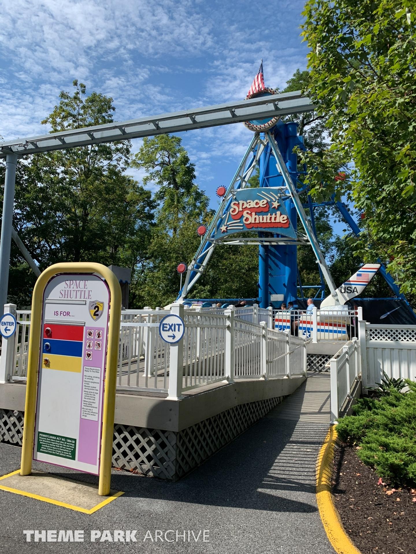 Space Shuttle at Dutch Wonderland