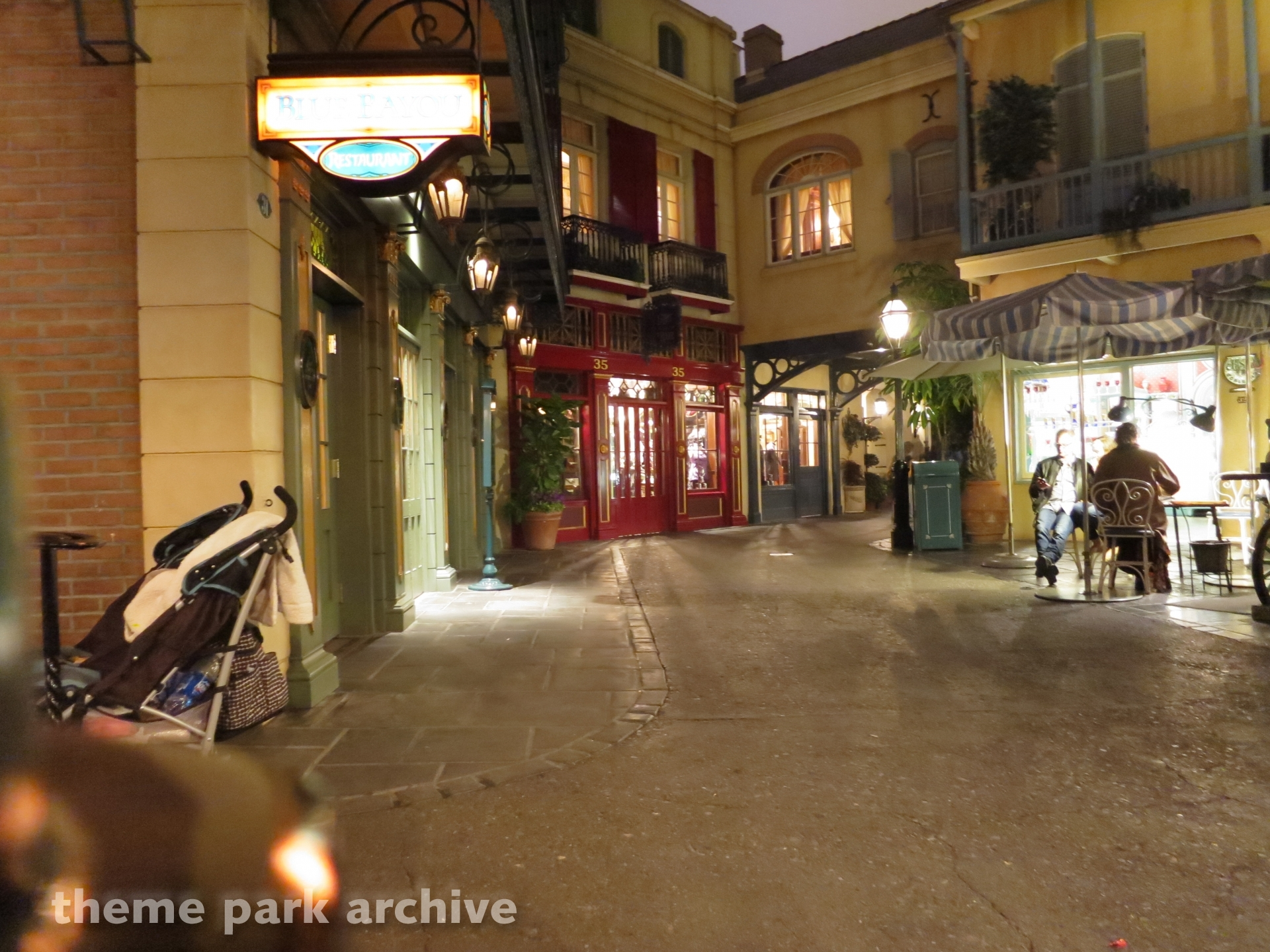 New Orleans Square at Disneyland