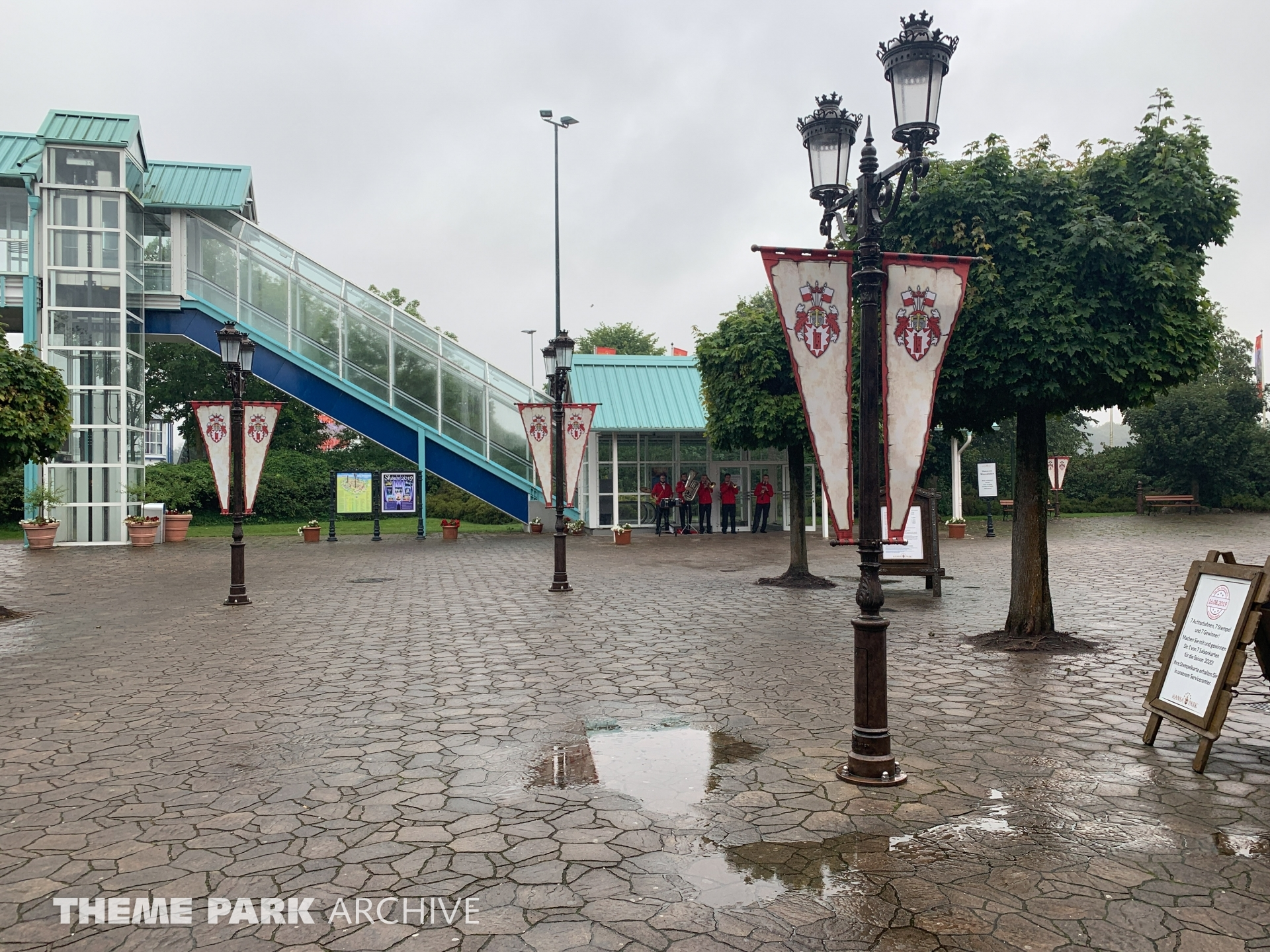 Entrance at Hansa Park