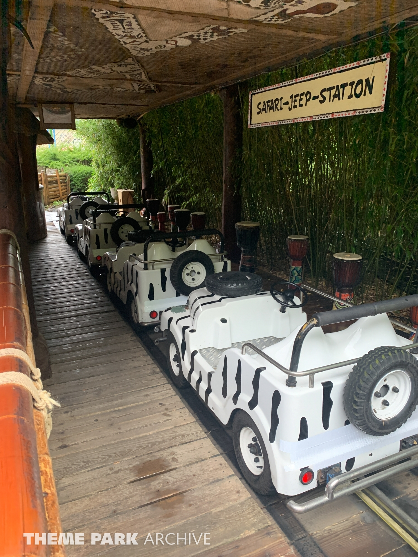 Safari Jeeps at Hansa Park