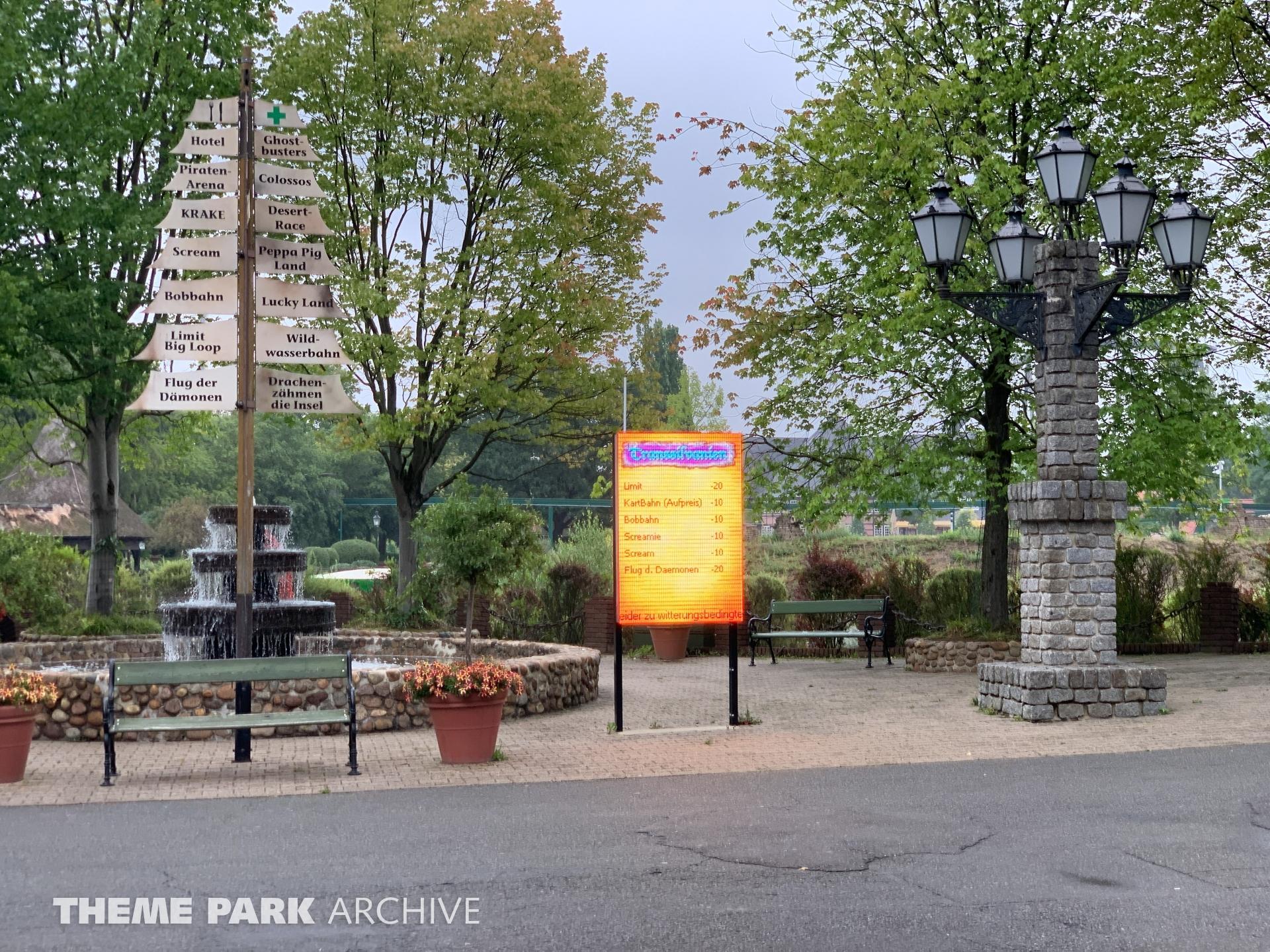 Entrance at Heide Park