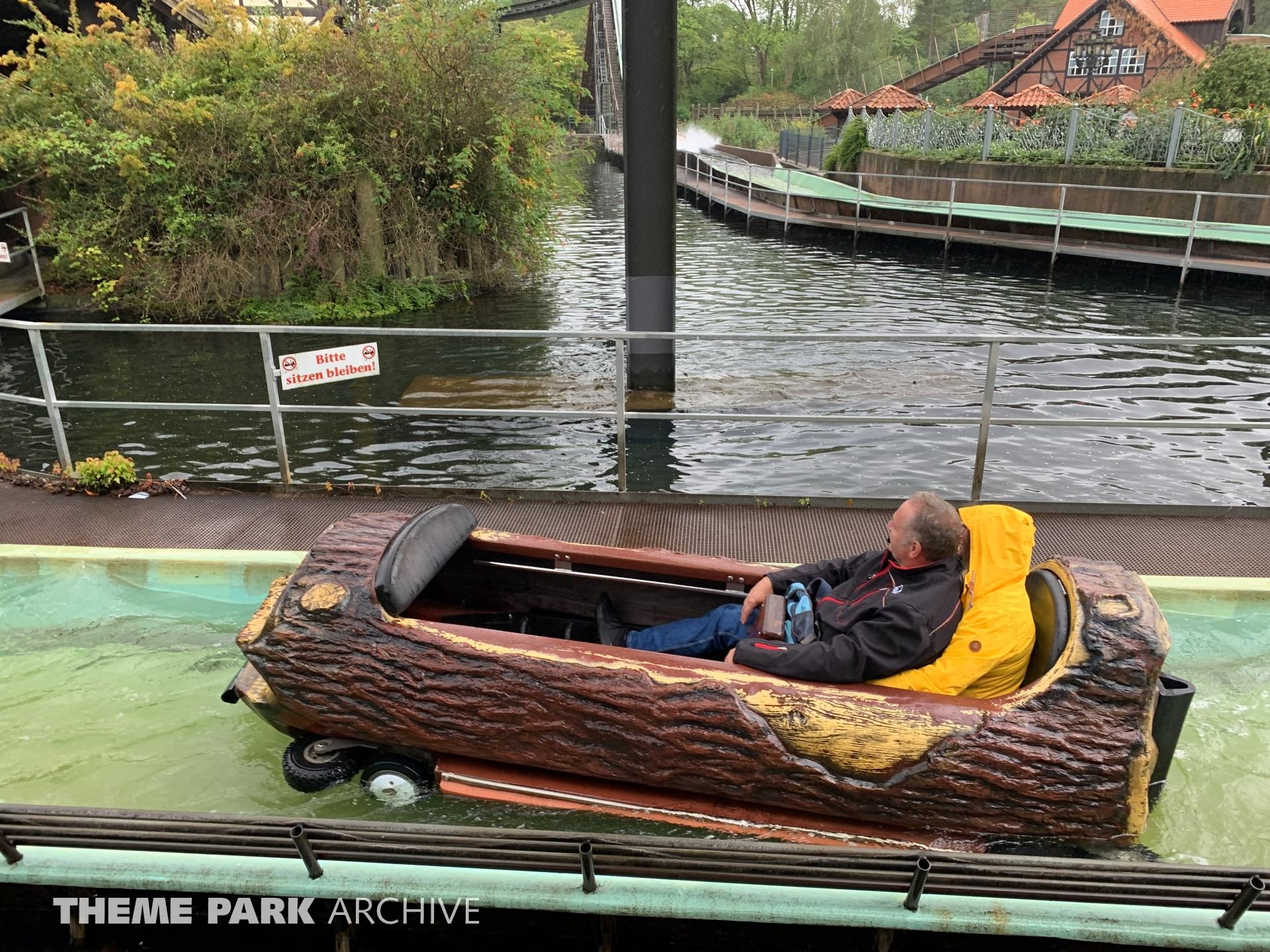 Wildwasserbahn at Heide Park
