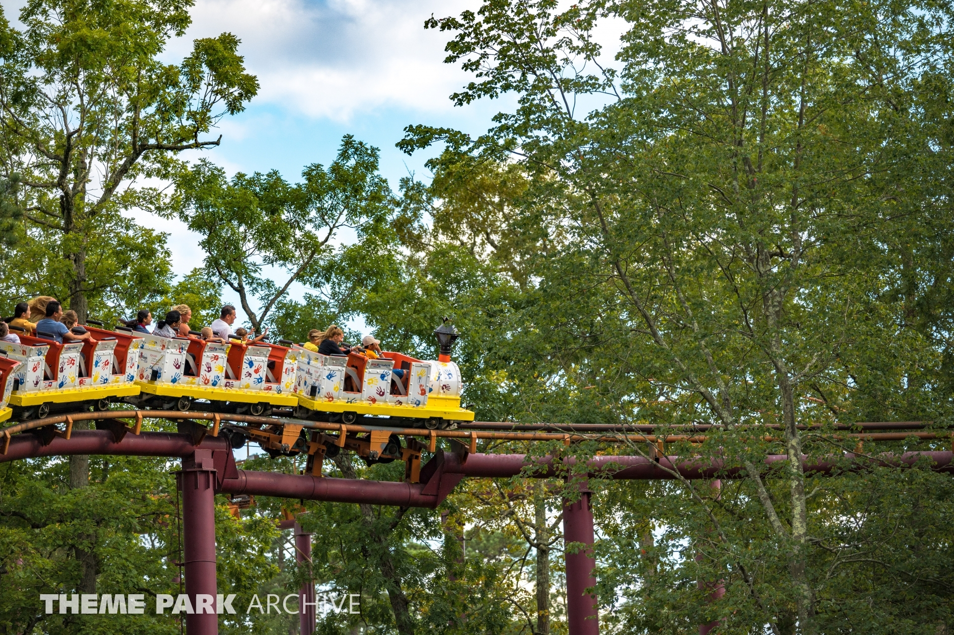 Runaway Mine Train at Six Flags Great Adventure