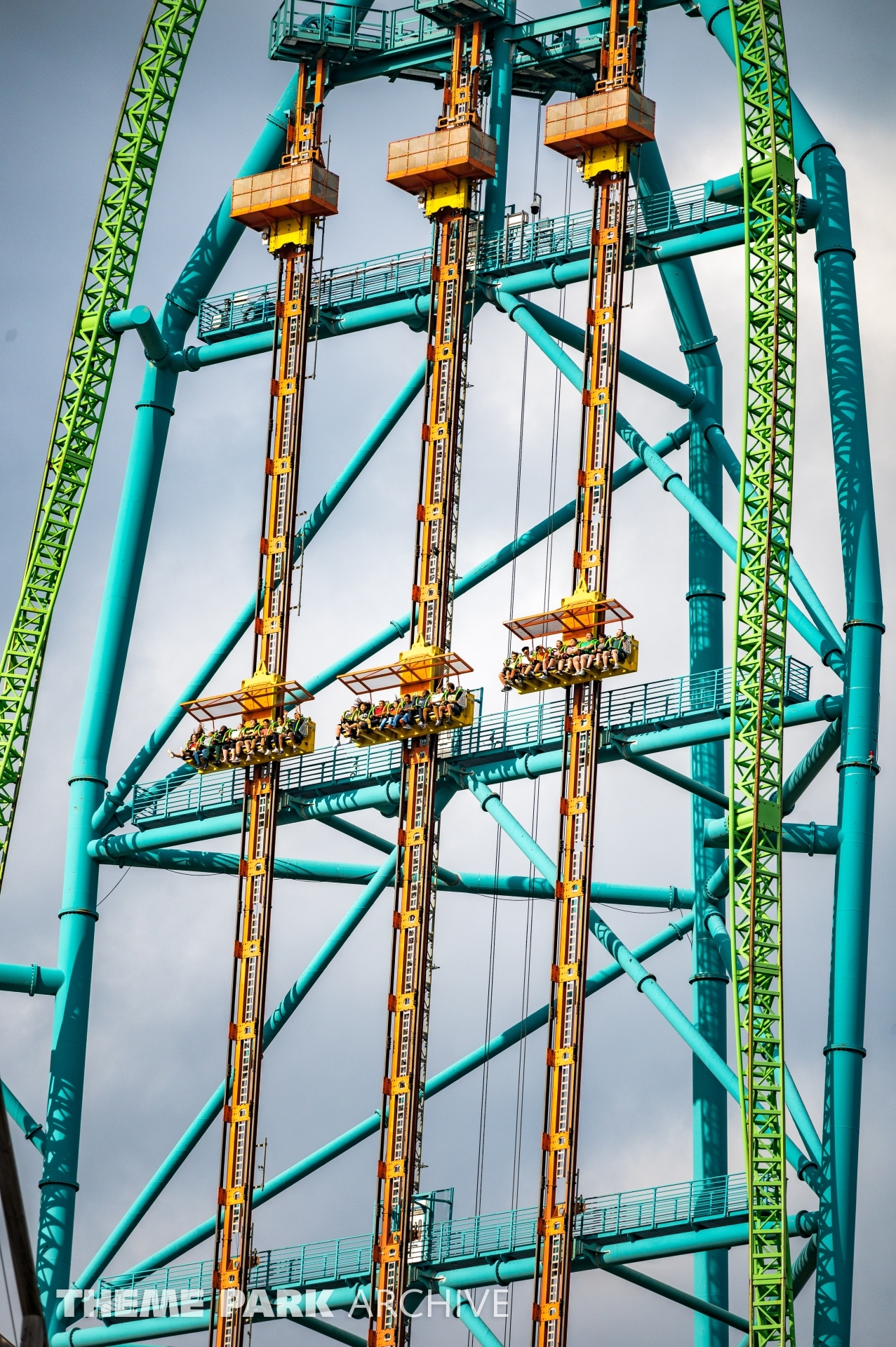 Zumanjaro Drop of Doom at Six Flags Great Adventure