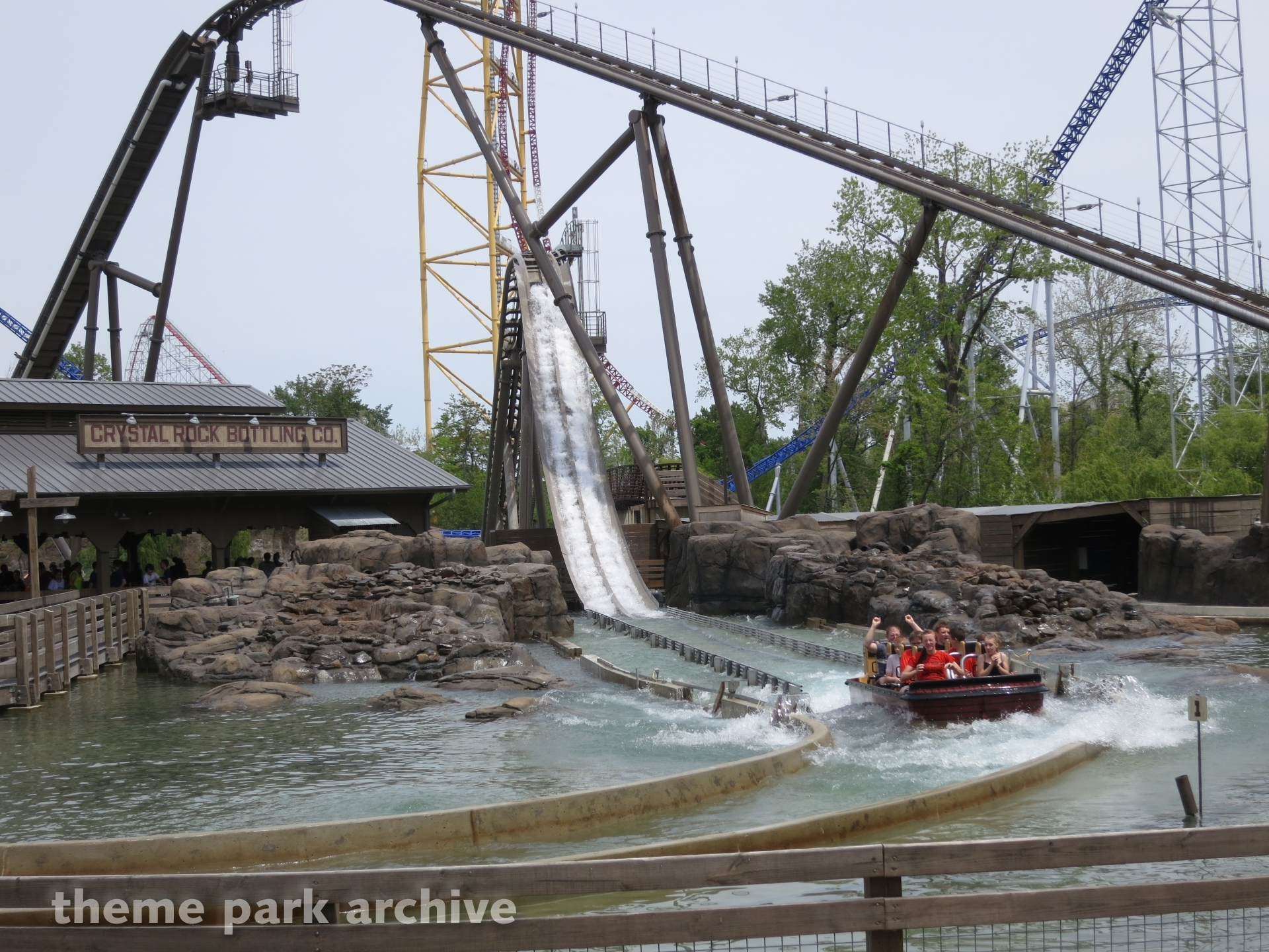 Shoot The Rapids at Cedar Point