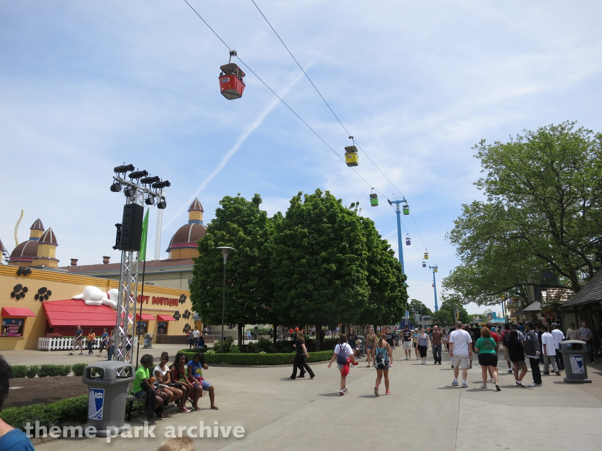 Sky Ride at Cedar Point