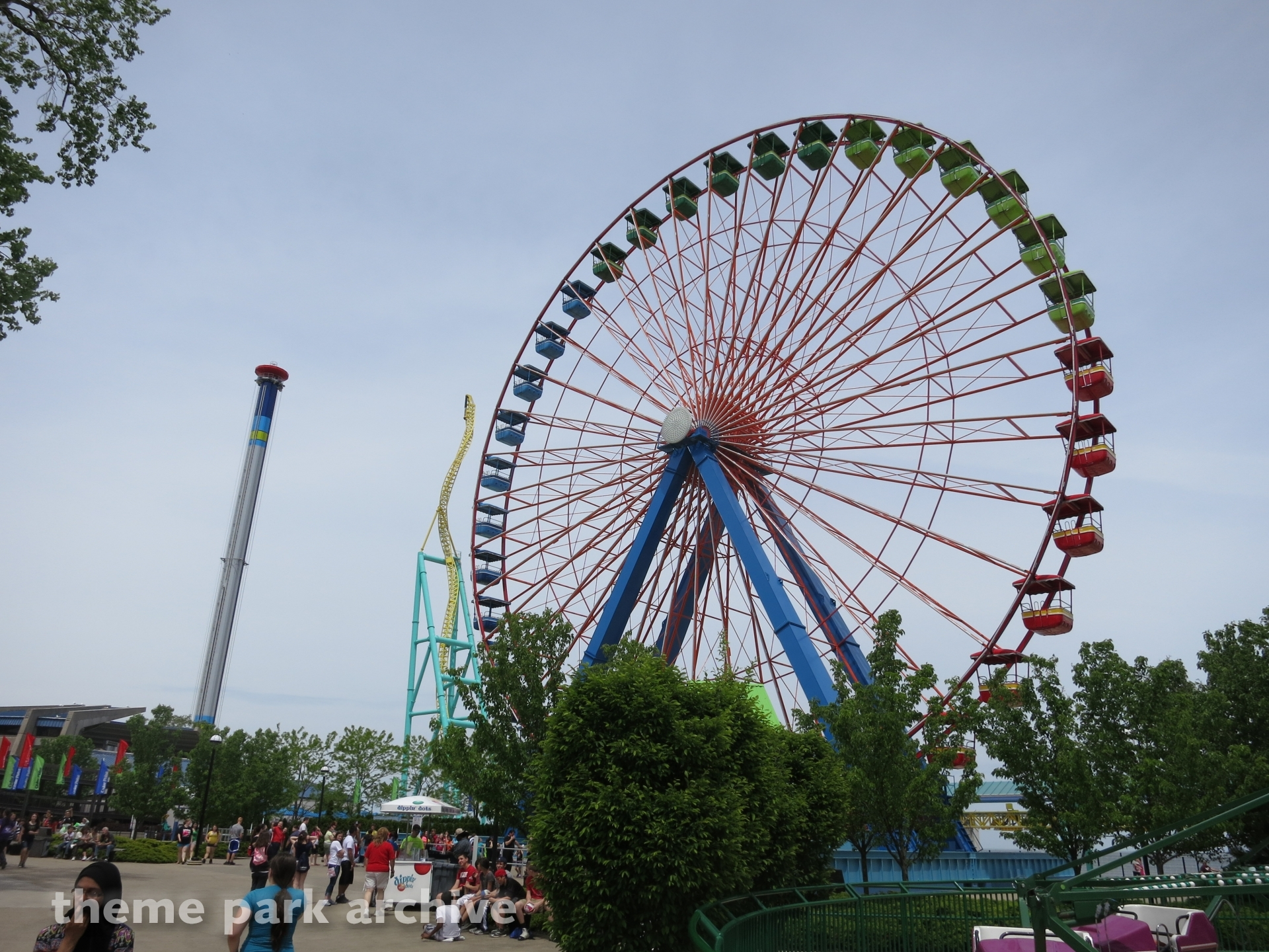 Giant Wheel at Cedar Point