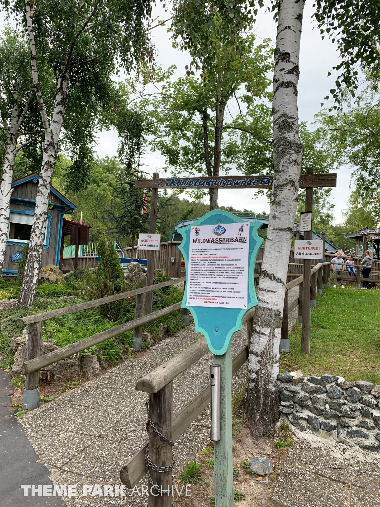 Wildwasserbahn at Freizeit Land Geiselwind