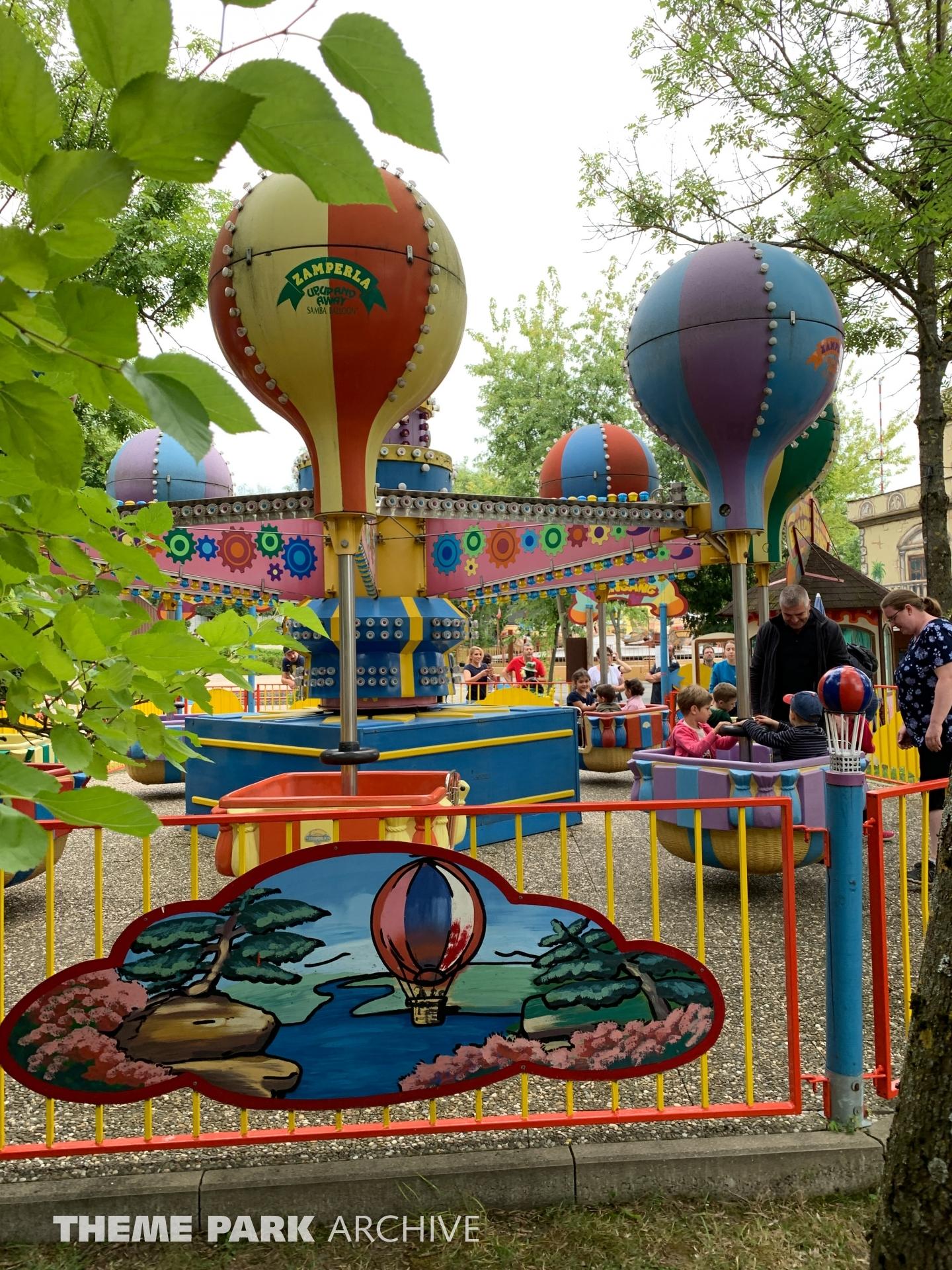 Juniors Ballonfahrt at Freizeit Land Geiselwind